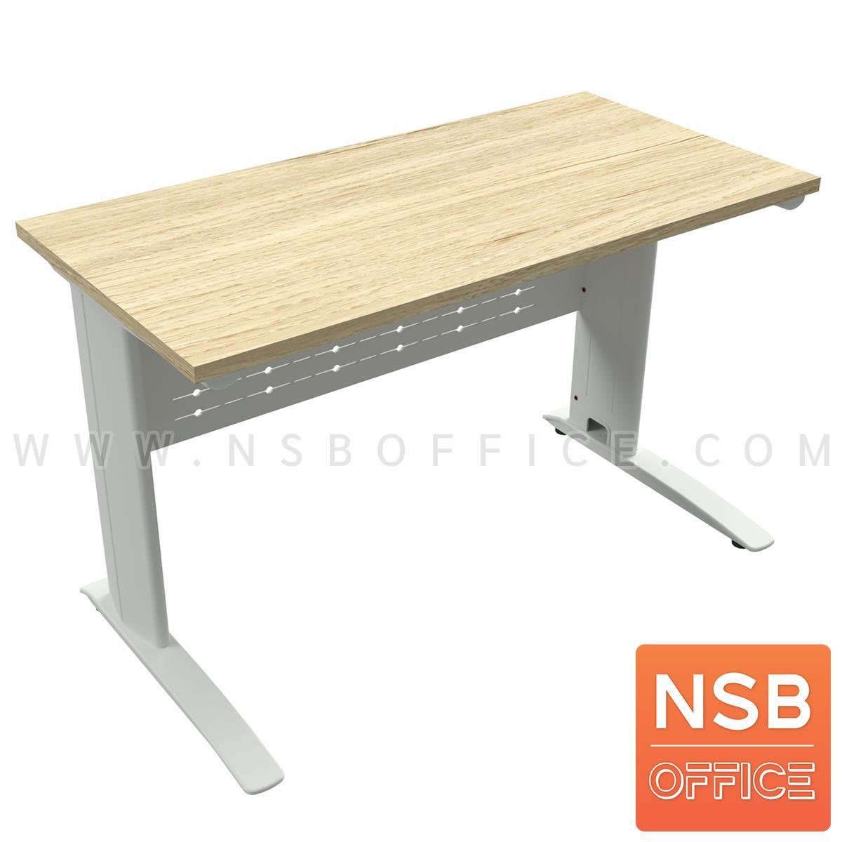 A10A105:โต๊ะทำงาน รุ่น Westcon (เวสต์คอน) ขนาด 120W, 150W, 180*60D cm. บังโป๊เหล็ก ขาเหล็กตัวแอลพ่นสี