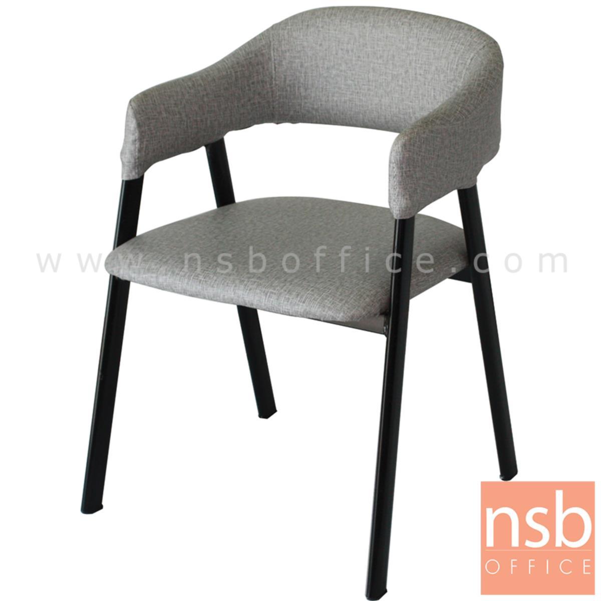 B29A295:เก้าอี้โมเดิร์นหนังเทียม รุ่น Gable (เกเบิล) ขนาด 50W cm. โครงขาไม้
