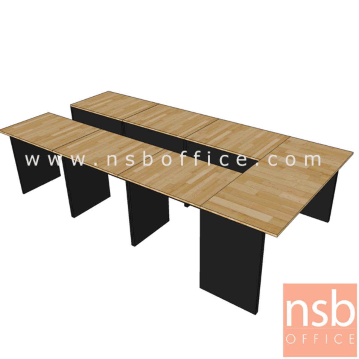โต๊ะประชุมหน้าตรง 60D cm.  ขนาด 80W ,120W ,150W ,180W ,210W cm. เมลามีน
