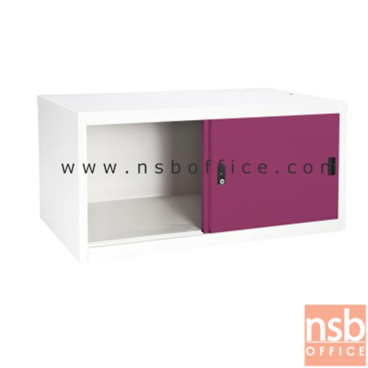 ตู้เสริมบนตู้เสื้อผ้าเหล็ก บานเลื่อนทึบ (สูงรวม 226 cm.) รุ่น SDC-04