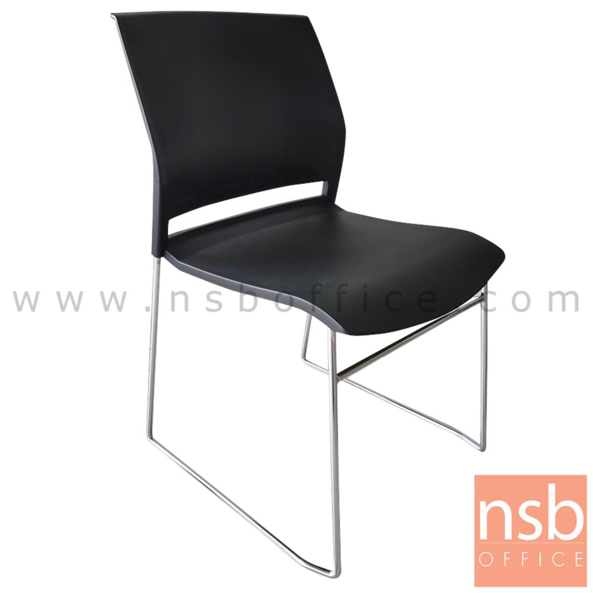 B05A179:เก้าอี้อเนกประสงค์เฟรมโพลี่ รุ่น Ares (แอรีส)   ขาเหล็กเพลาตัน