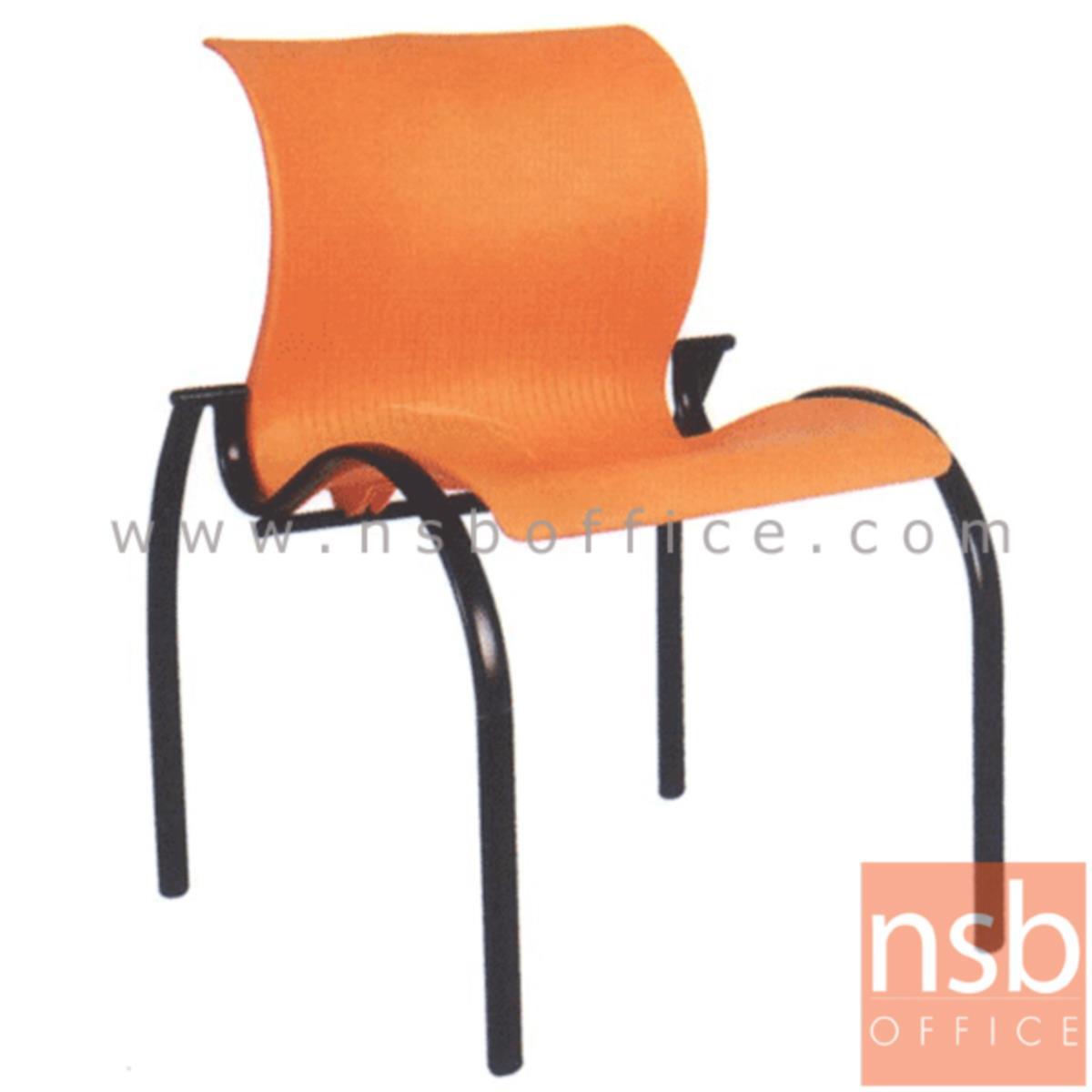 เก้าอี้อเนกประสงค์เฟรมโพลี่ รุ่น A4-501 ขาเหล็ก
