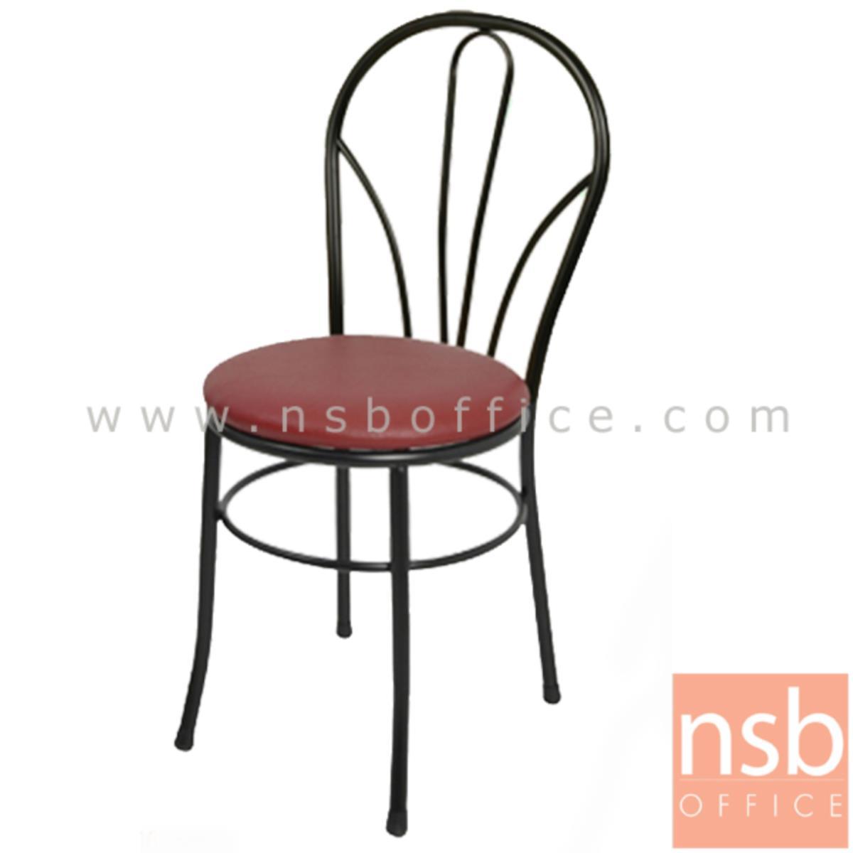B20A045:เก้าอี้อเนกประสงค์เหล็ก รุ่น BONGA-BB  ขาเหล็กพ่นดำ