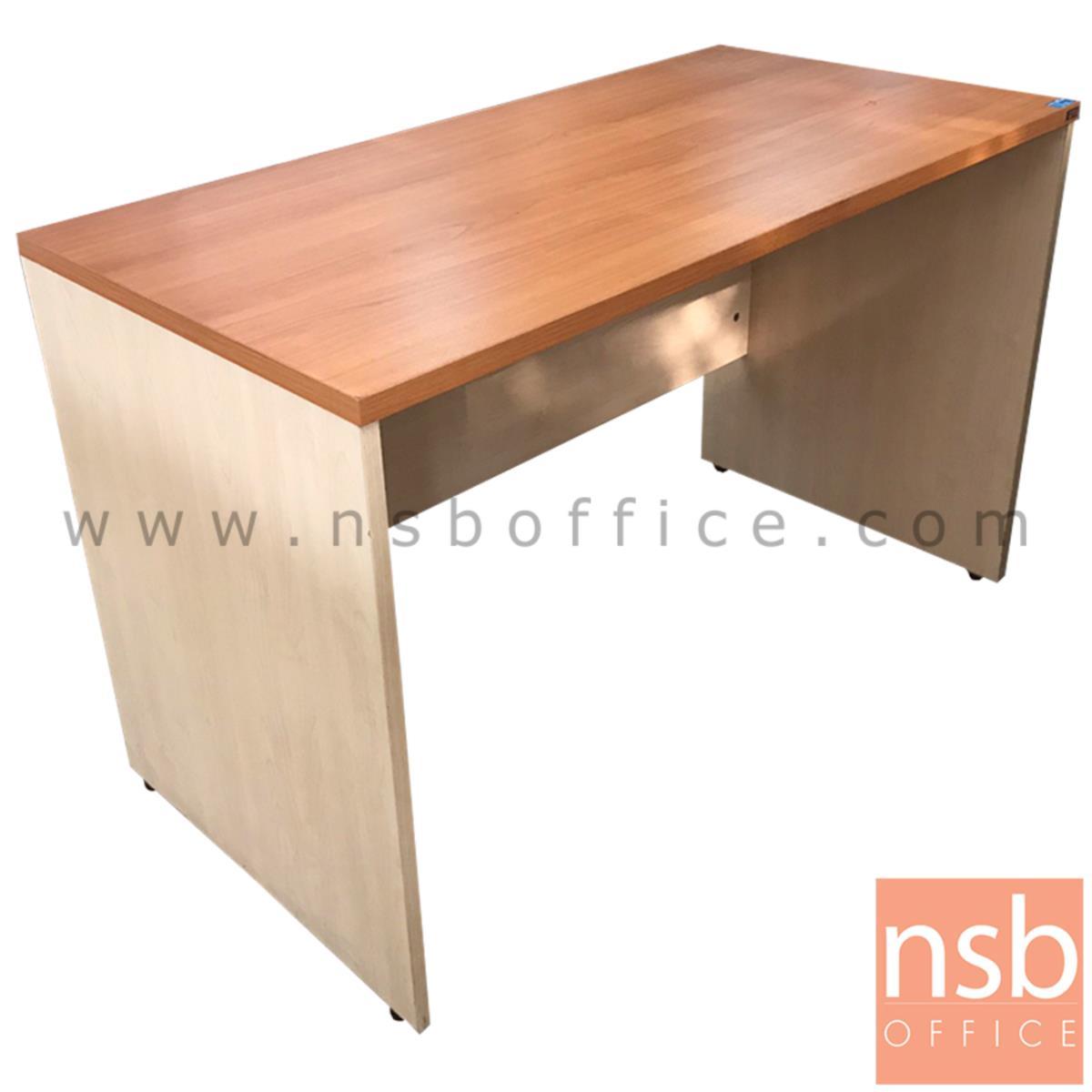 L10A193:โต๊ะทำงานโล่ง  ขนาด 120W*76H cm. เมลามีน