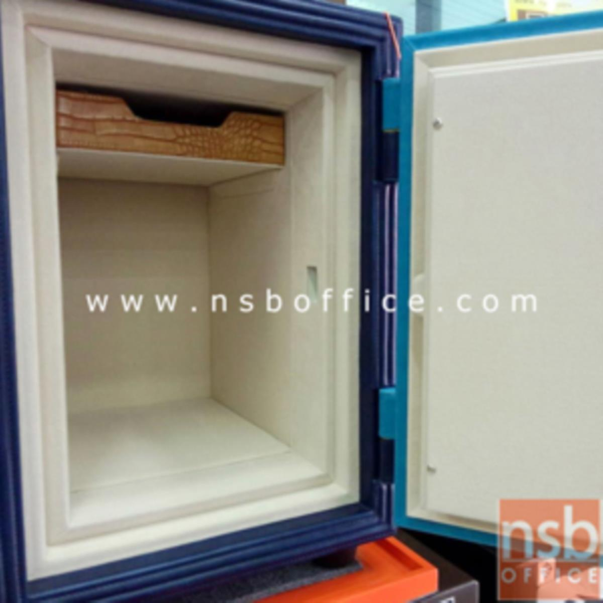 ตู้เซฟหุ้มหนัง รุ่น 51 kg. 1 กุญแจ / 1 รหัส (LT S512 K1C มอก.)
