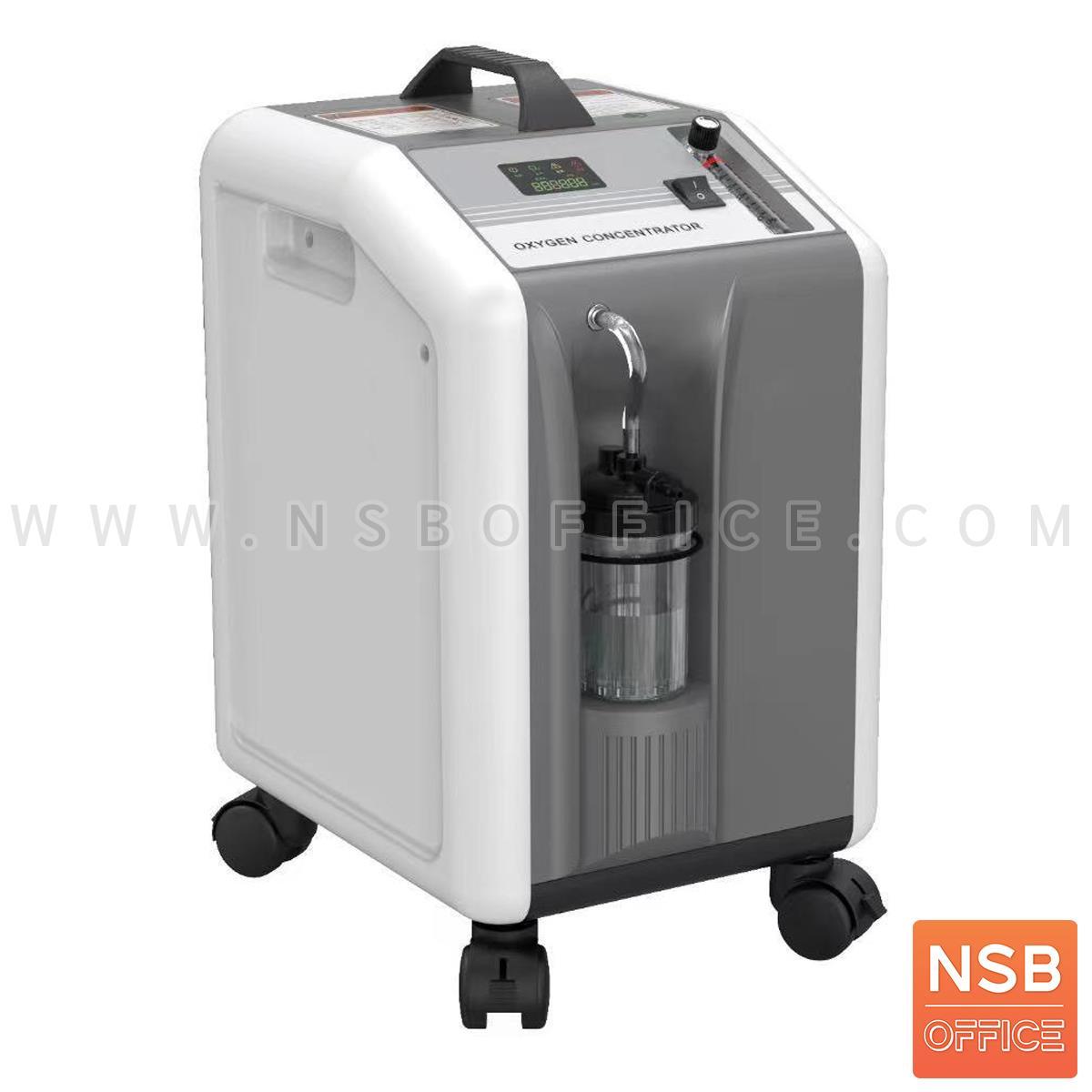 B32A005:เครื่องผลิตออกซิเจน Portable Oxygen Concentrator ขนาด 10 ลิตร ล้อเลื่อน