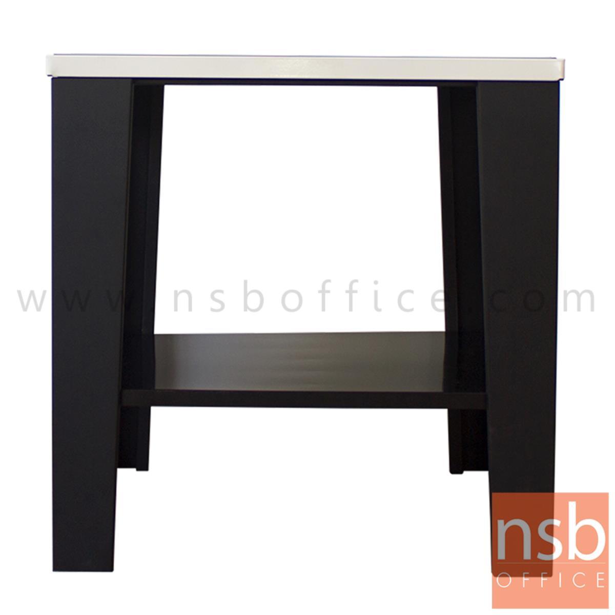 โต๊ะเหล็กข้างโซฟา  รุ่น KN-102 ขนาด 60W cm.