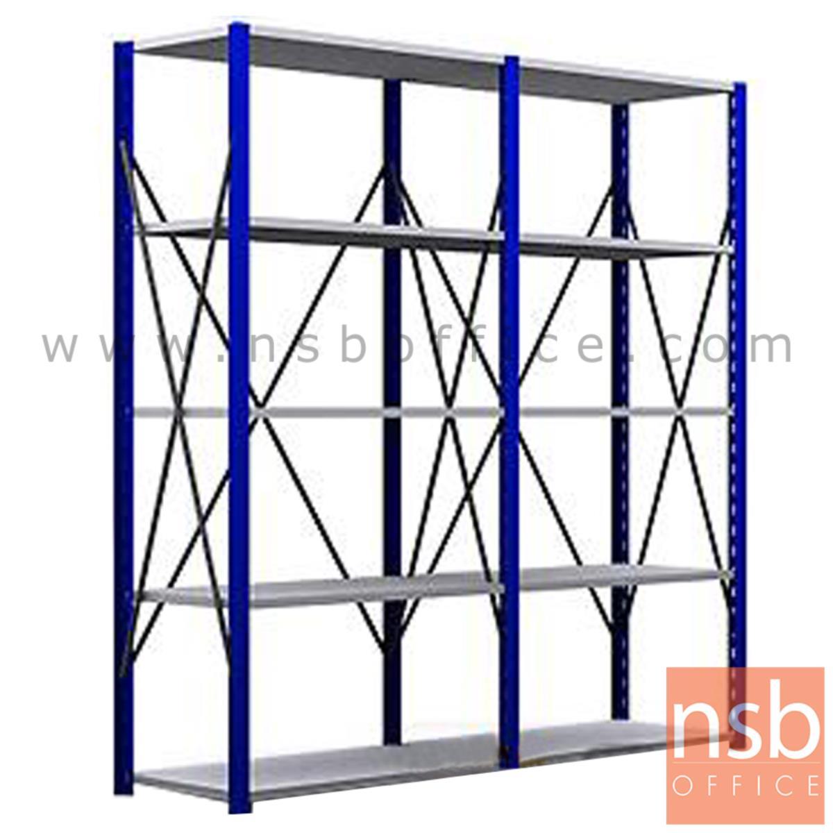 D03A011:ชั้นเหล็ก MR ขนาด 120W*50D (180H - 240H) cm. ชั้นปรับระดับได้ รับน้ำหนัก 150-200 KG/ชั้น