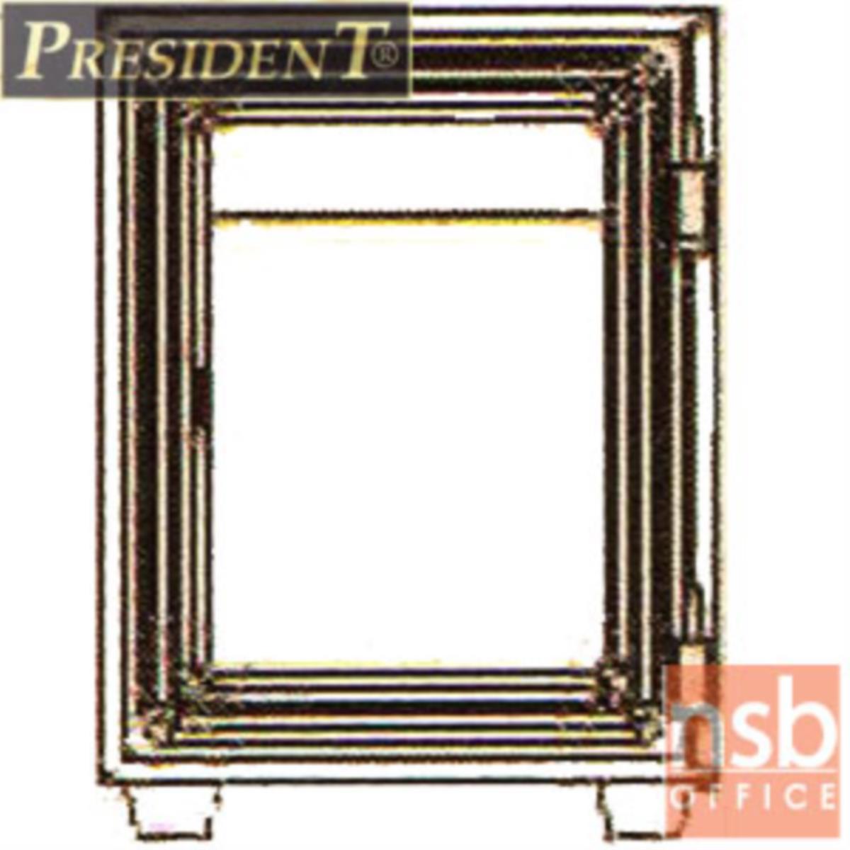 ตู้เซฟนิรภัยชนิดหมุน 28 กก. รุ่น PRESIDENT-LS2 มี 1 กุญแจ 1 รหัส (รหัสใช้หมุนหน้าตู้)