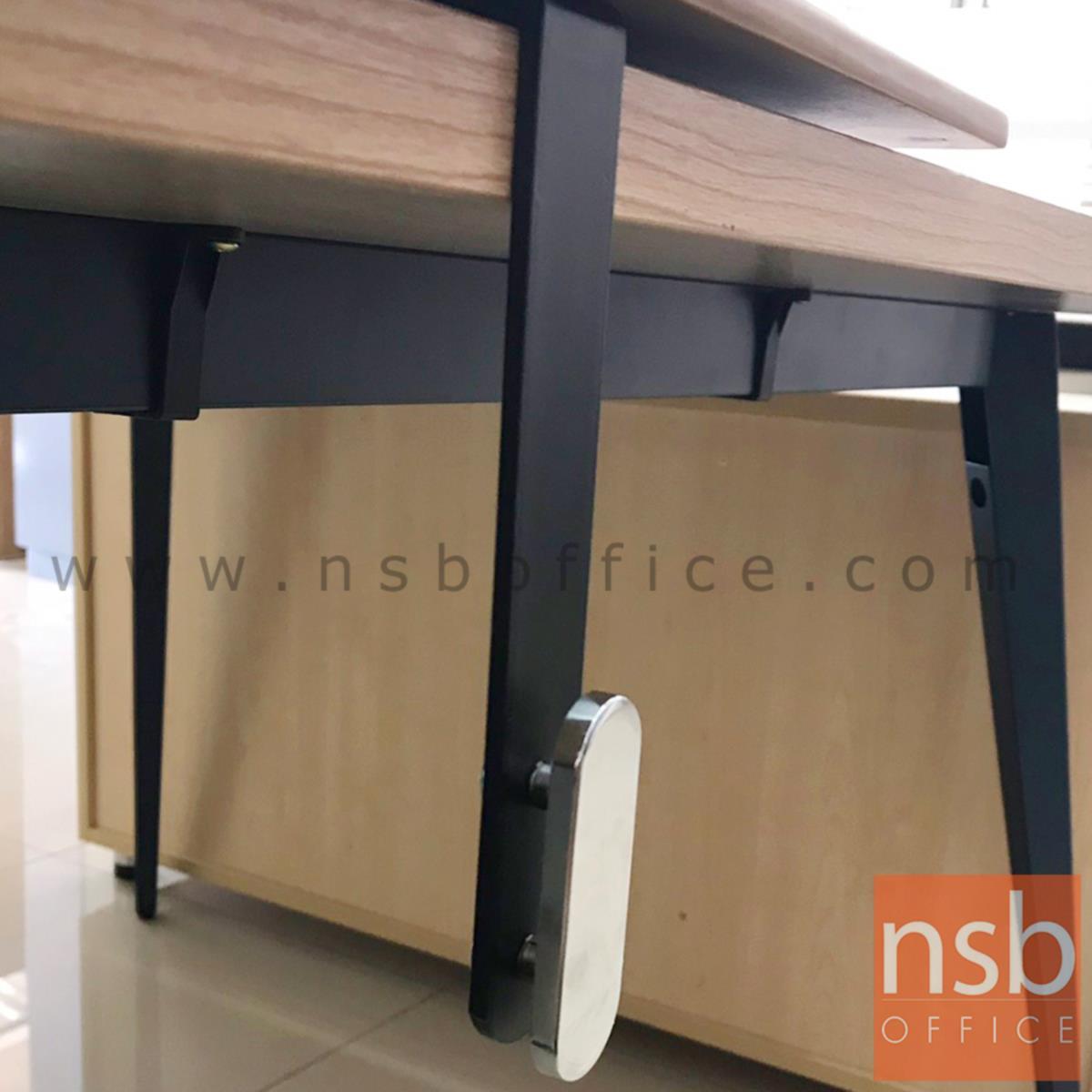 เหล็กฉากติดตั้งแผ่นบังตา รุ่น NSB-SCREEN1 ขนาด 2.4W*17.5H cm.