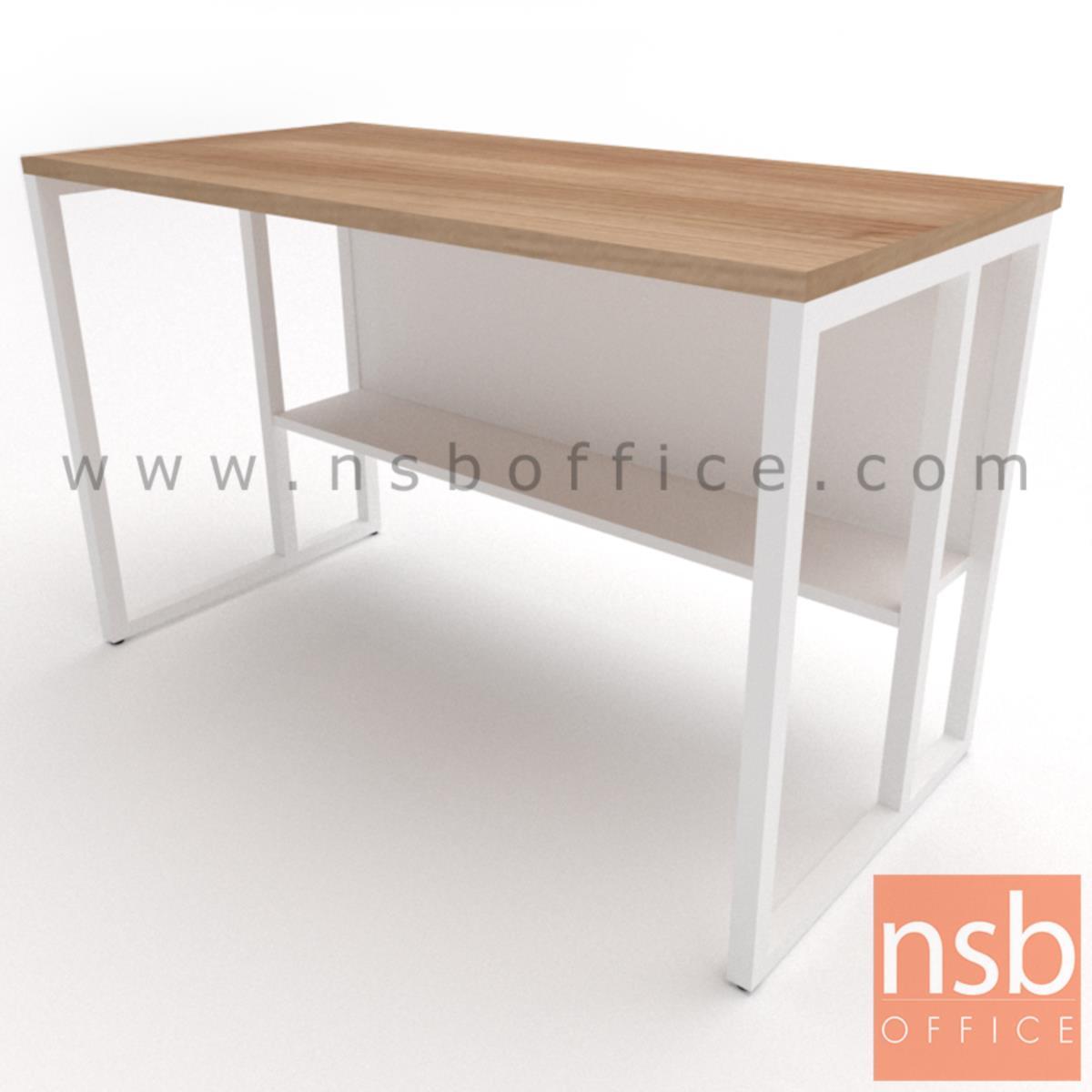 A10A085:โต๊ะทำงานโล่งทรงสีเหลี่ยม รุ่น Lavina (ลาวิน่า) ขนาด 80W ,120W ,135W, 150W ,160W ,180W cm. ขาเหล็กกล่อง