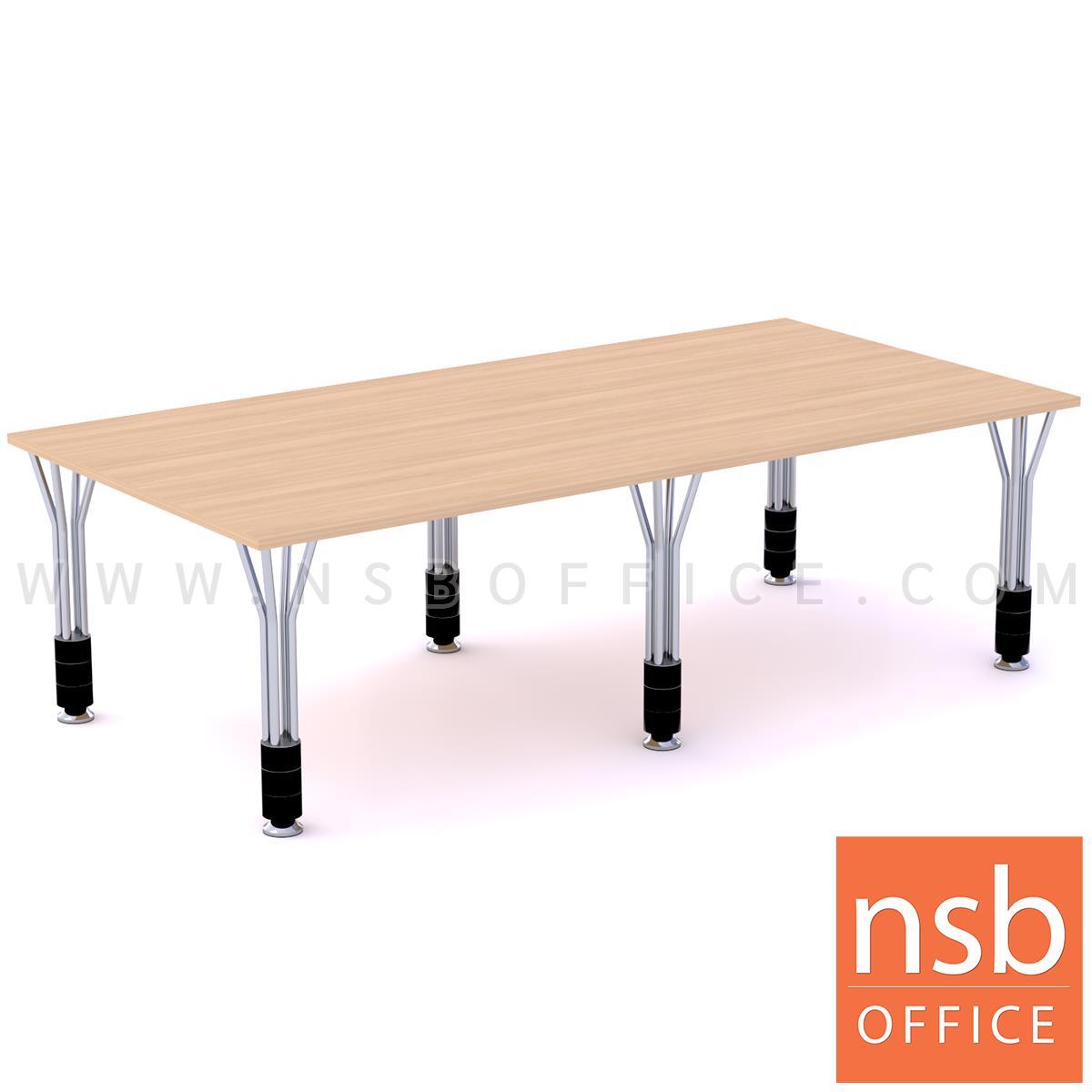 A05A228:โต๊ะประชุมทรงสี่เหลี่ยม  รุ่น Sullivan (ซัลลิแวน) ขนาด 150W, 240W cm. ขาเหล็ก