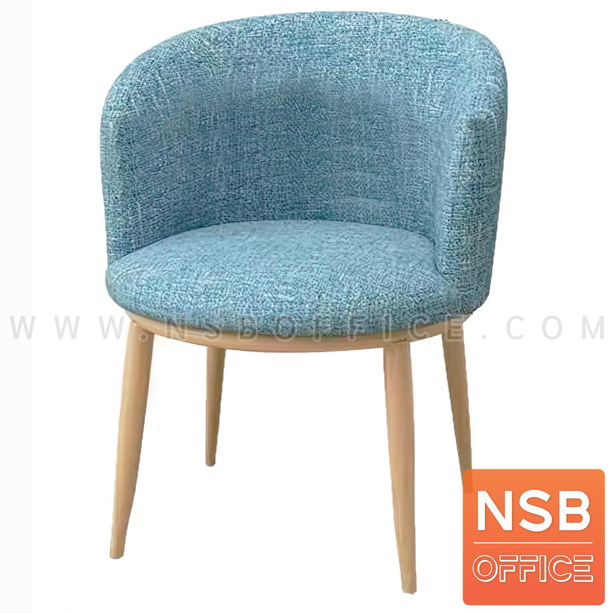 B29A378:เก้าอี้โมเดิร์นหุ้มผ้า รุ่น fabbrick (แฟ็บบริค)  ขาไม้