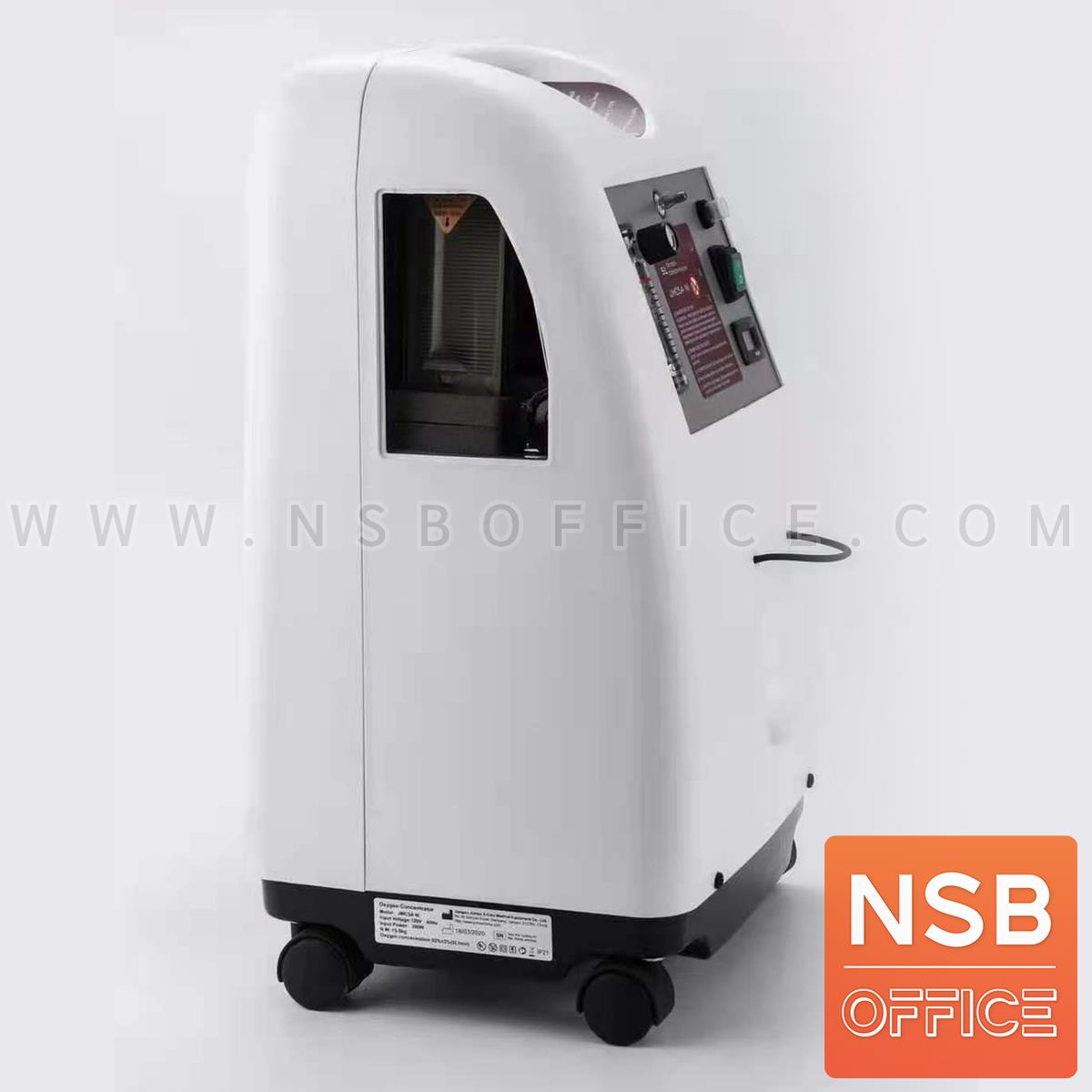 เครื่องผลิตออกซิเจน Portable Oxygen Concentrator Model Jumao JMC-5A Ni  ขนาด 5 ลิตร ล้อเลื่อน