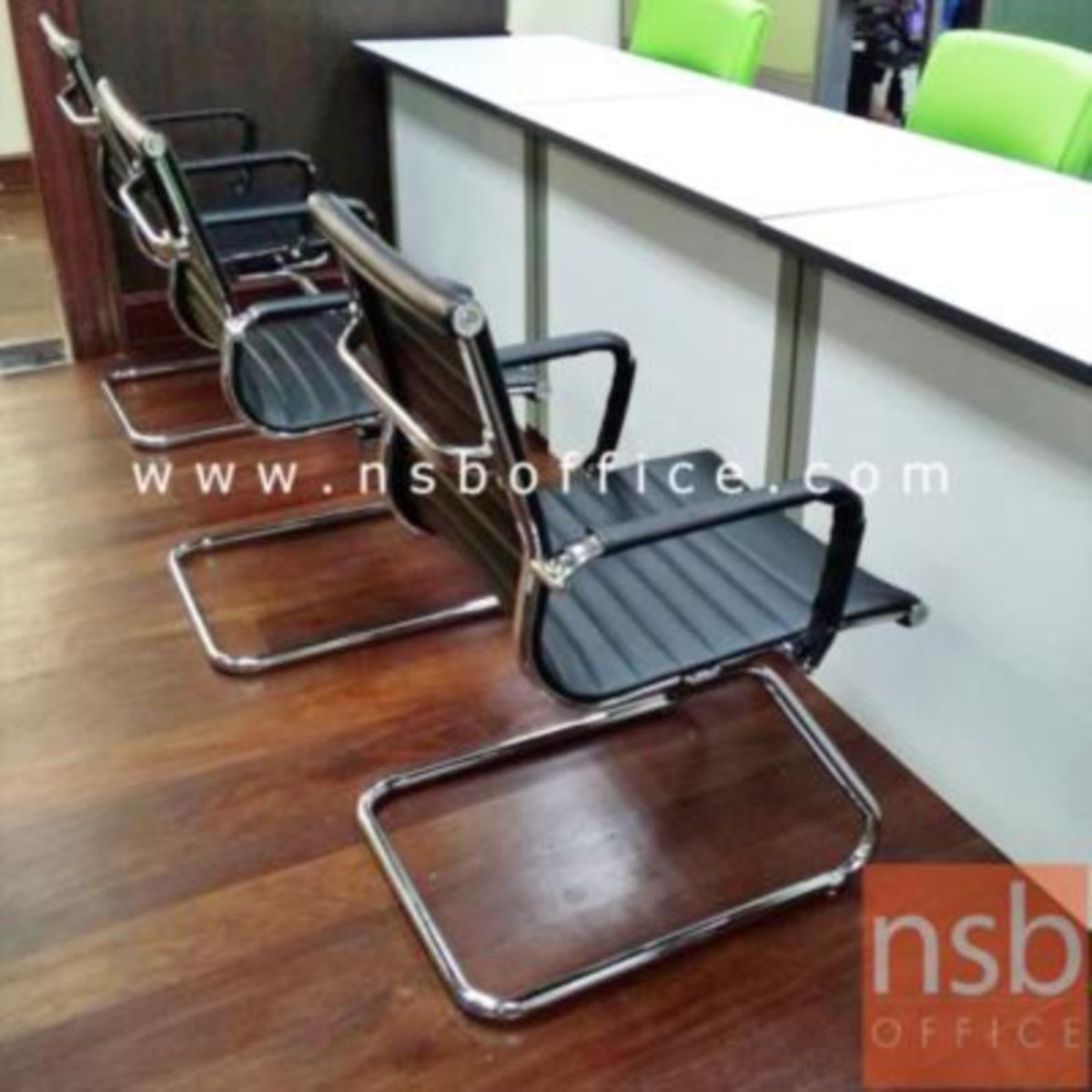 เก้าอี้รับแขกขาตัวซี รุ่น Cyclop (ไซคลอป)  ขาเหล็กชุบโครเมี่ยม