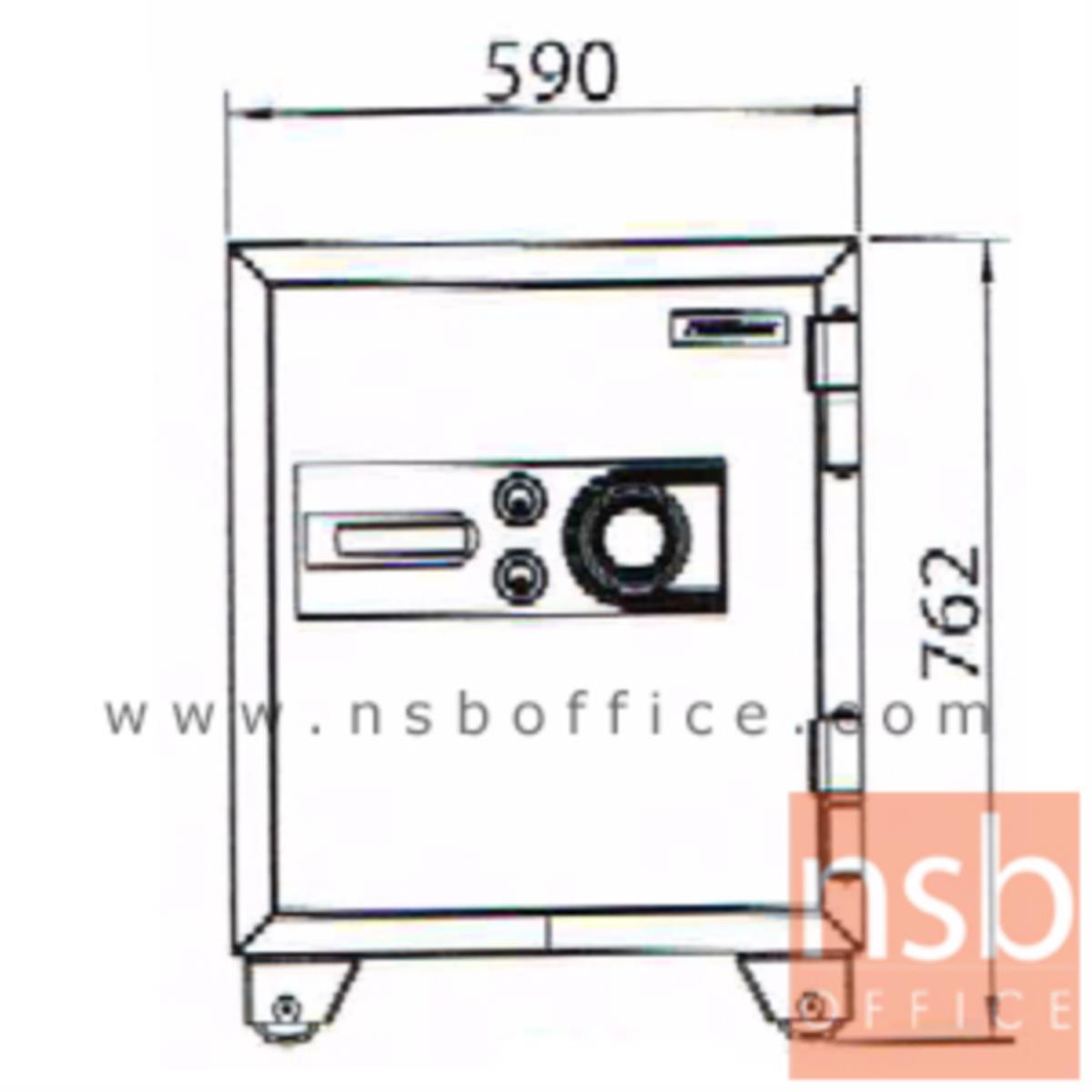 ตู้เซฟนิรภัยชนิดหมุน 155 กก. รุ่น PRESIDENT-SB30 มี 2 กุญแจ 1 รหัส (รหัสใช้หมุนหน้าตู้)
