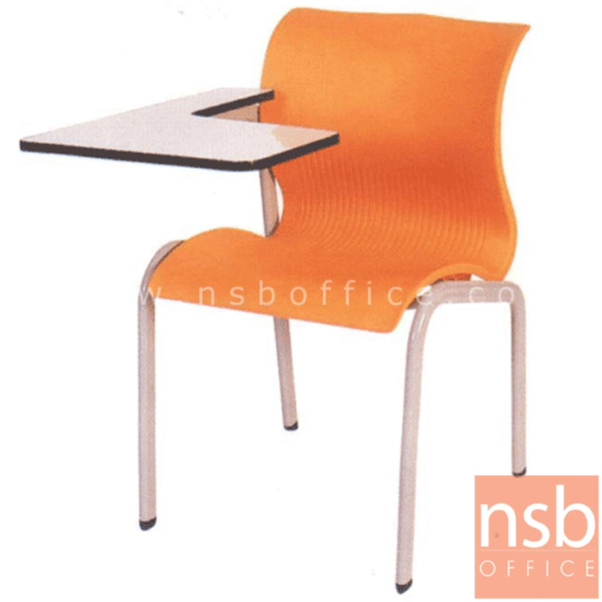 B07A047:เก้าอี้เลคเชอร์เฟรมโพลี่ รุ่น C6-701 ขาเหล็ก
