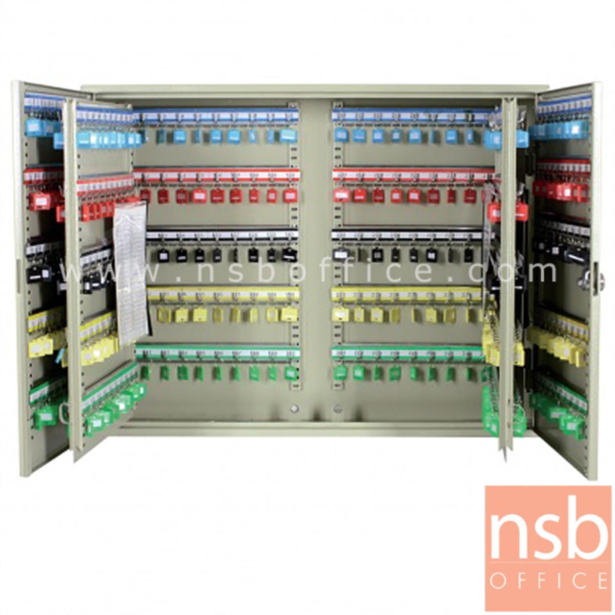 E17A010:ตู้เก็บกุญแจ 400 ดอก พร้อมพวงกุญแจระบุหมายเลข ระบบกุญแจล็อค รุ่น Rene (เรเน)