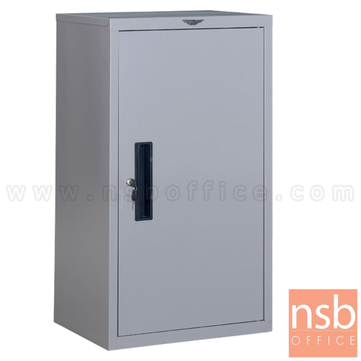 E07A085:ตู้เหล็กอเนกประสงค์ บานเปิดทึบ รุ่น Essense (เอสเซ็นส์) ขนาด 45W*87.3H cm. กุญแจล็อก