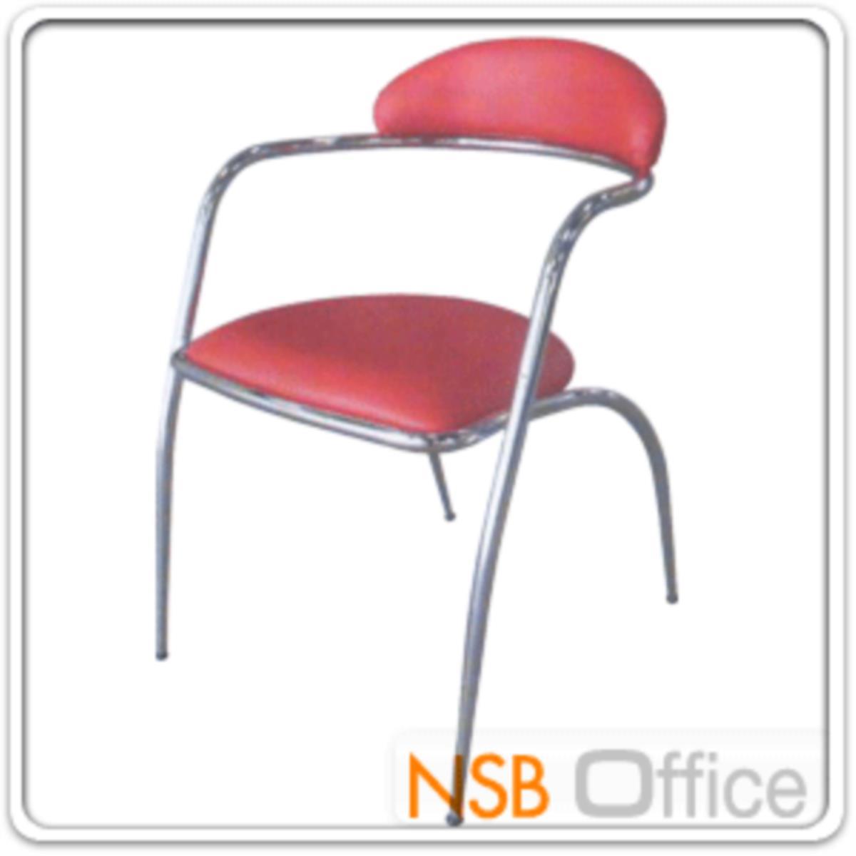 เก้าอี้อเนกประสงค์เหล็ก รุ่น TK-21  ขาเหล็กชุบโครเมี่ยม