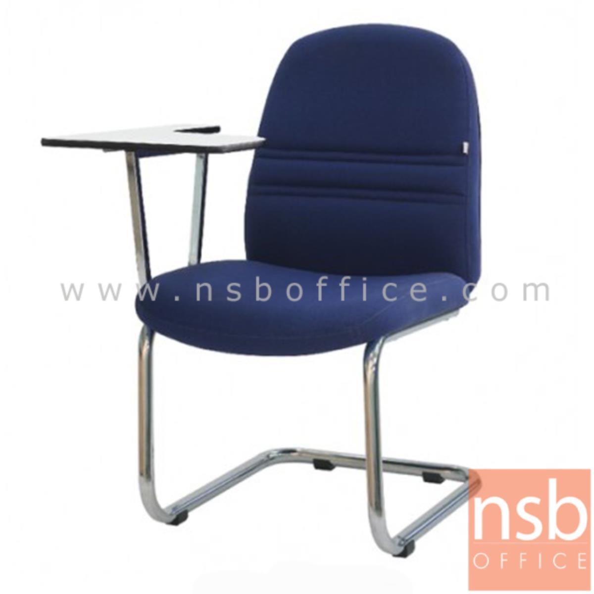 B07A031:เก้าอี้เลคเชอร์หุ้มหนังเทียม (PVC)หรือหุ้มผ้า รุ่น TY-AC232LE ขาตัวซีเหล็กชุบโครเมี่ยม