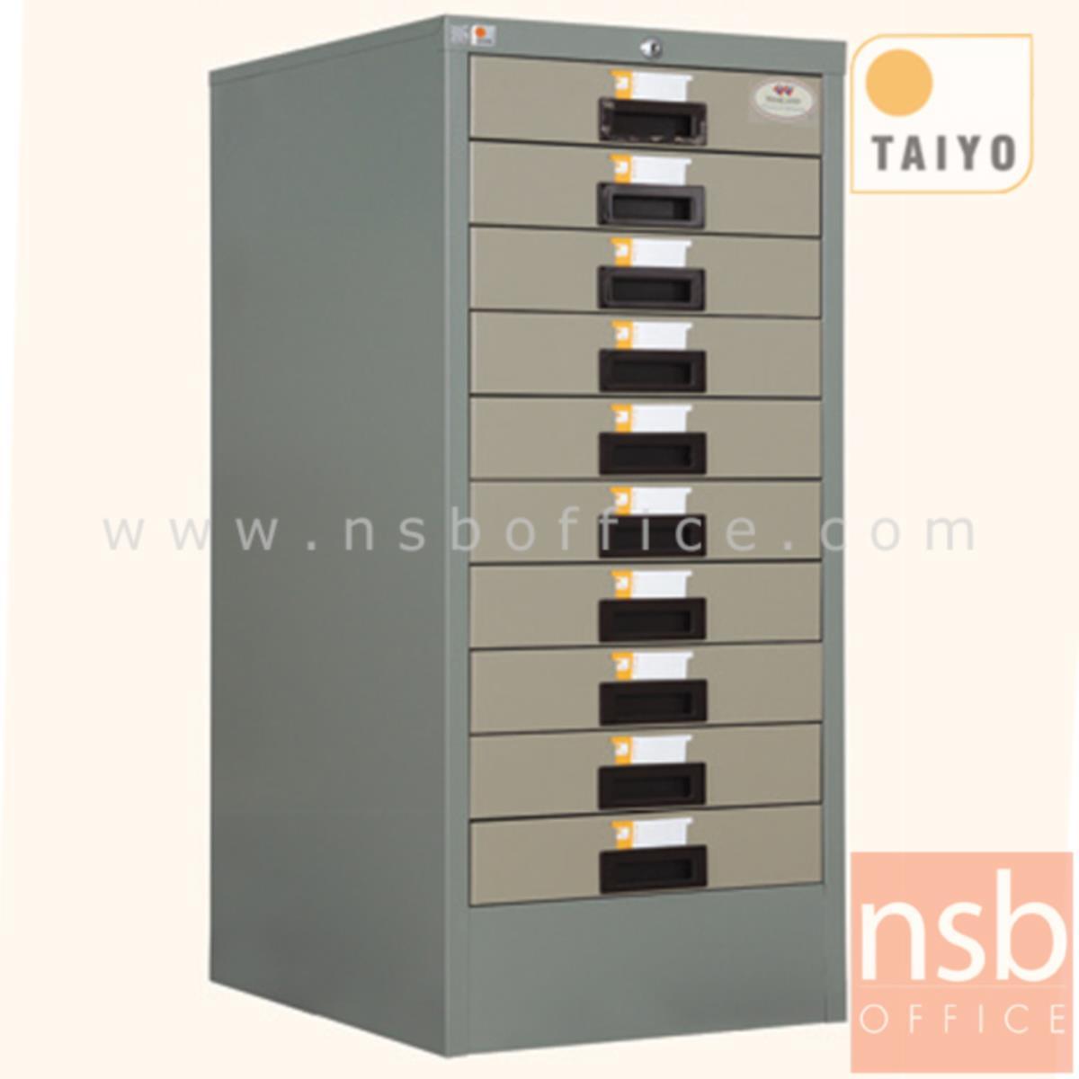 E02A030:ตู้เก็บแบบฟอร์ม 10 ลิ้นชัก ตั้งพื้น (กระดาษ A3)  รุ่น FR-910