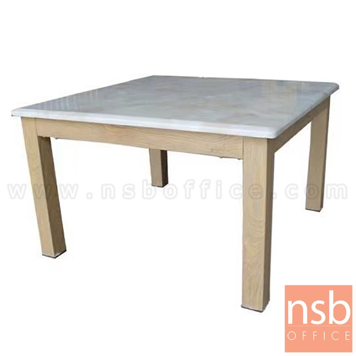 B13A296:โต๊ะกลางหินอ่อน รุ่น Converse (คอนเวิร์ส) ขนาด 70W cm. ขาเหล็ก