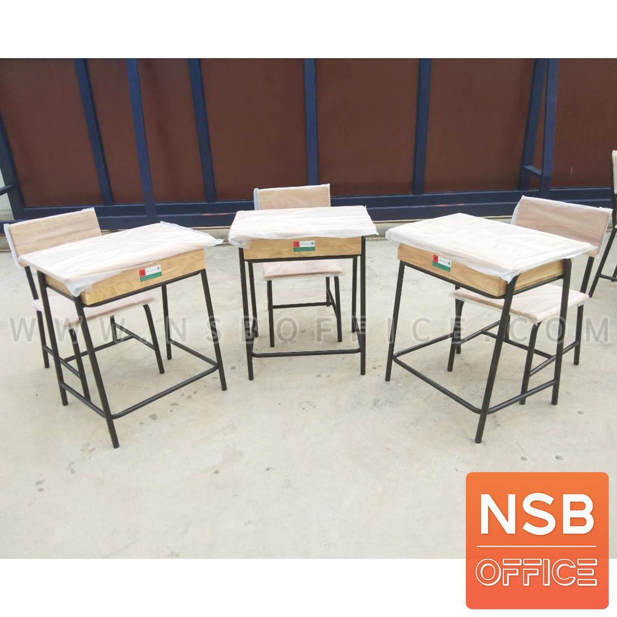 A17A033:ชุดโต๊ะและเก้าอี้นักเรียน มอก. รุ่น FLORIDA (ฟลอริดา)  ขาสีดำ ระดับอนุบาล