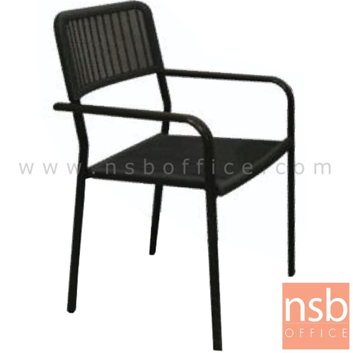 G08A281:เก้าอี้สนามพลาสติก รุ่น Animax ขนาด 55W cm.  ขาพลาสติก