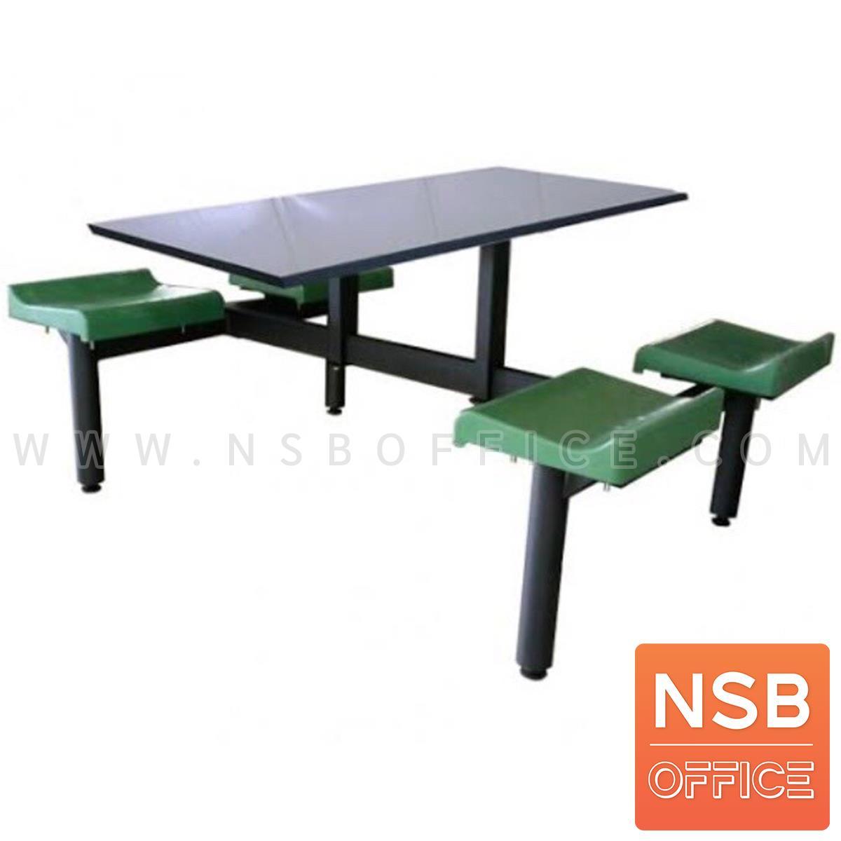 A17A097:ชุดโต๊ะและเก้าอี้ 4 ที่นั่ง  รุ่น Stardew (สตาร์ดิว)  ที่นั่งโพลี่