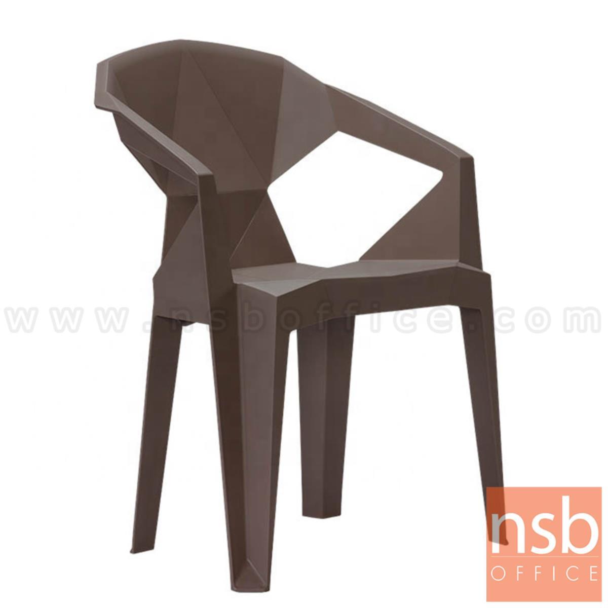 B11A037:เก้าอี้โมเดิร์นพลาสติกล้วน รุ่น Renton (เรนตัน) ขนาด 57W cm.