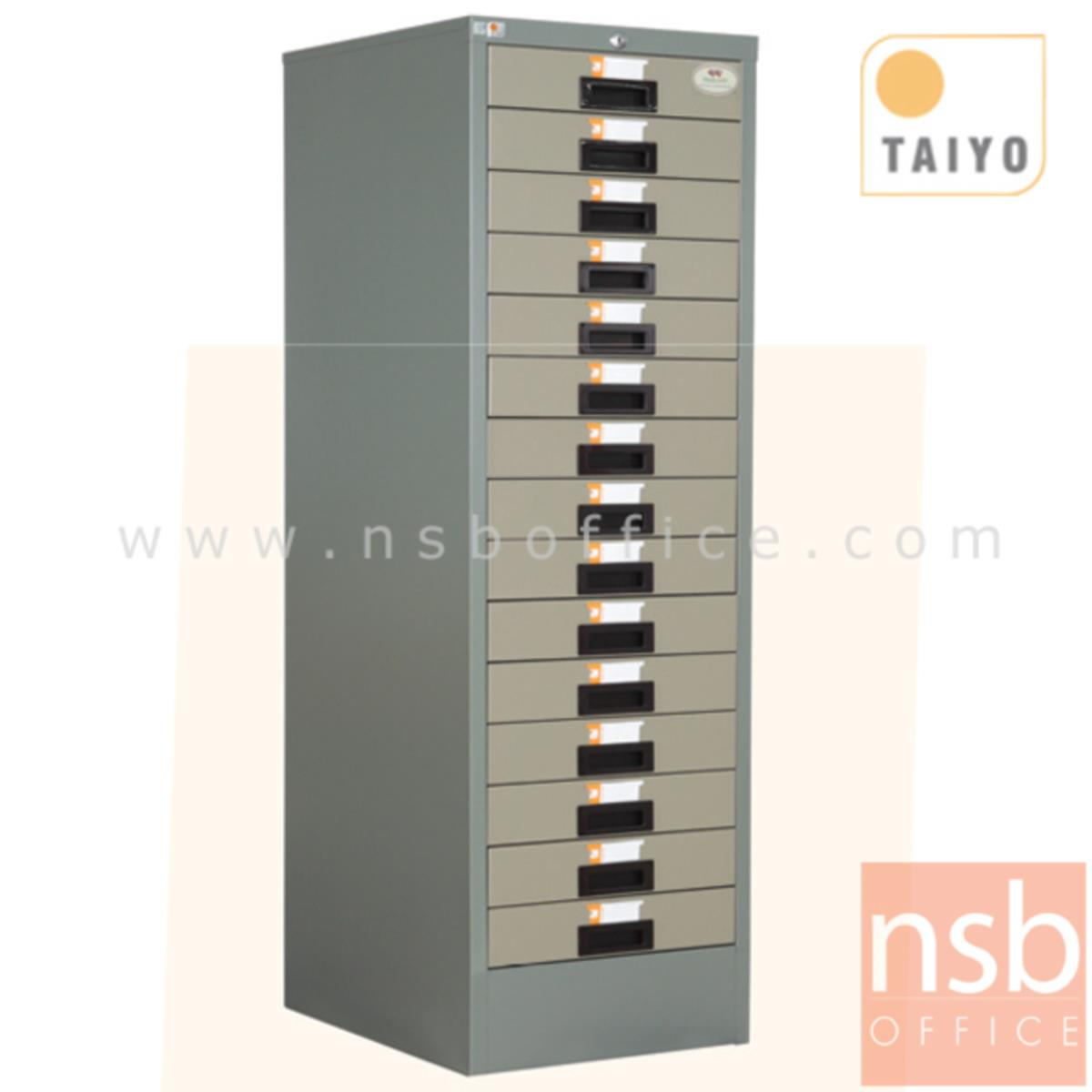 E02A031:ตู้เก็บแบบฟอร์ม 15 ลิ้นชัก ตั้งพื้น (กระดาษ A3) รุ่น FR-915