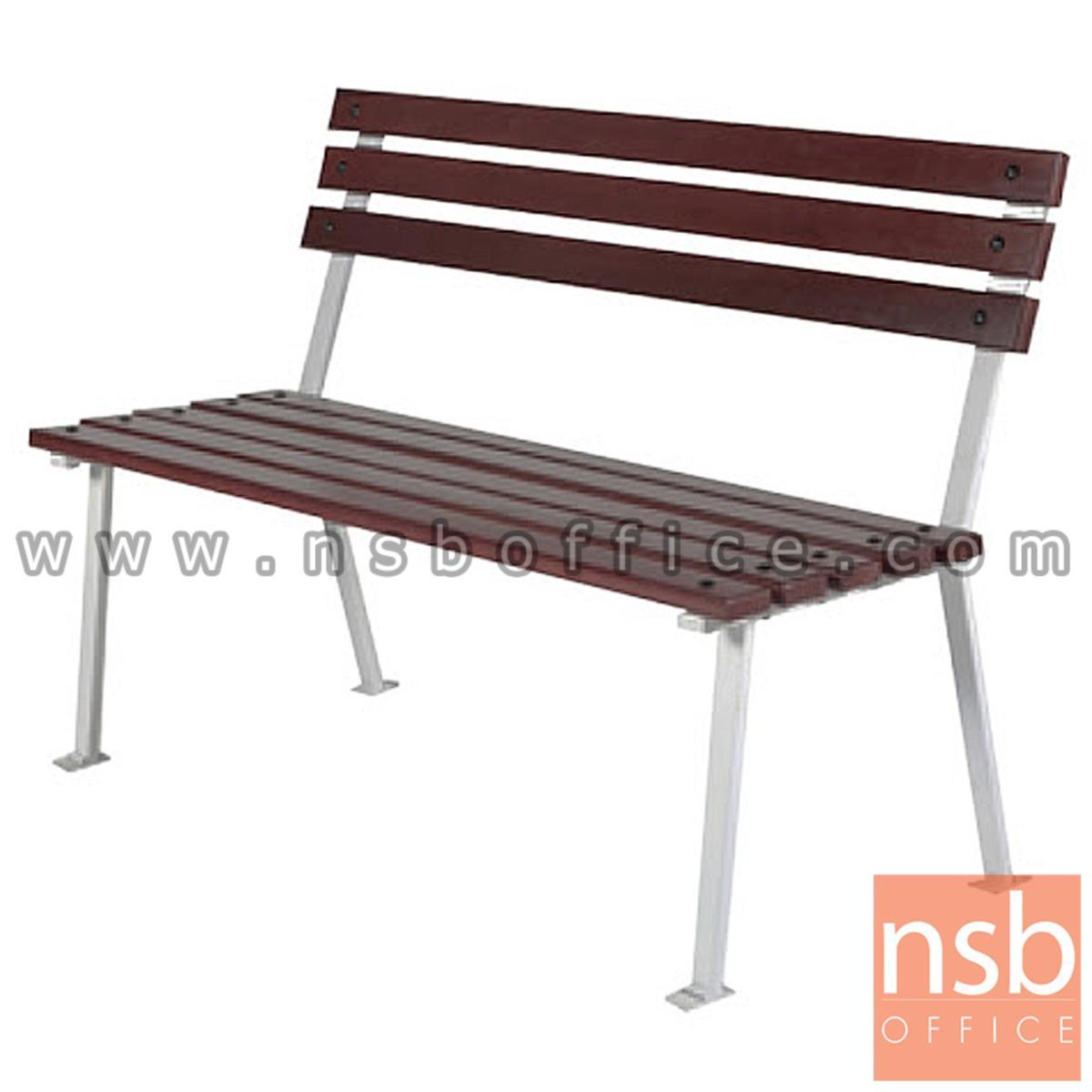 เก้าอี้สนามไม้เต็ง เหล็กหล่อ กทม. BKK-CS10 (100, 120, 150, 200 cm)