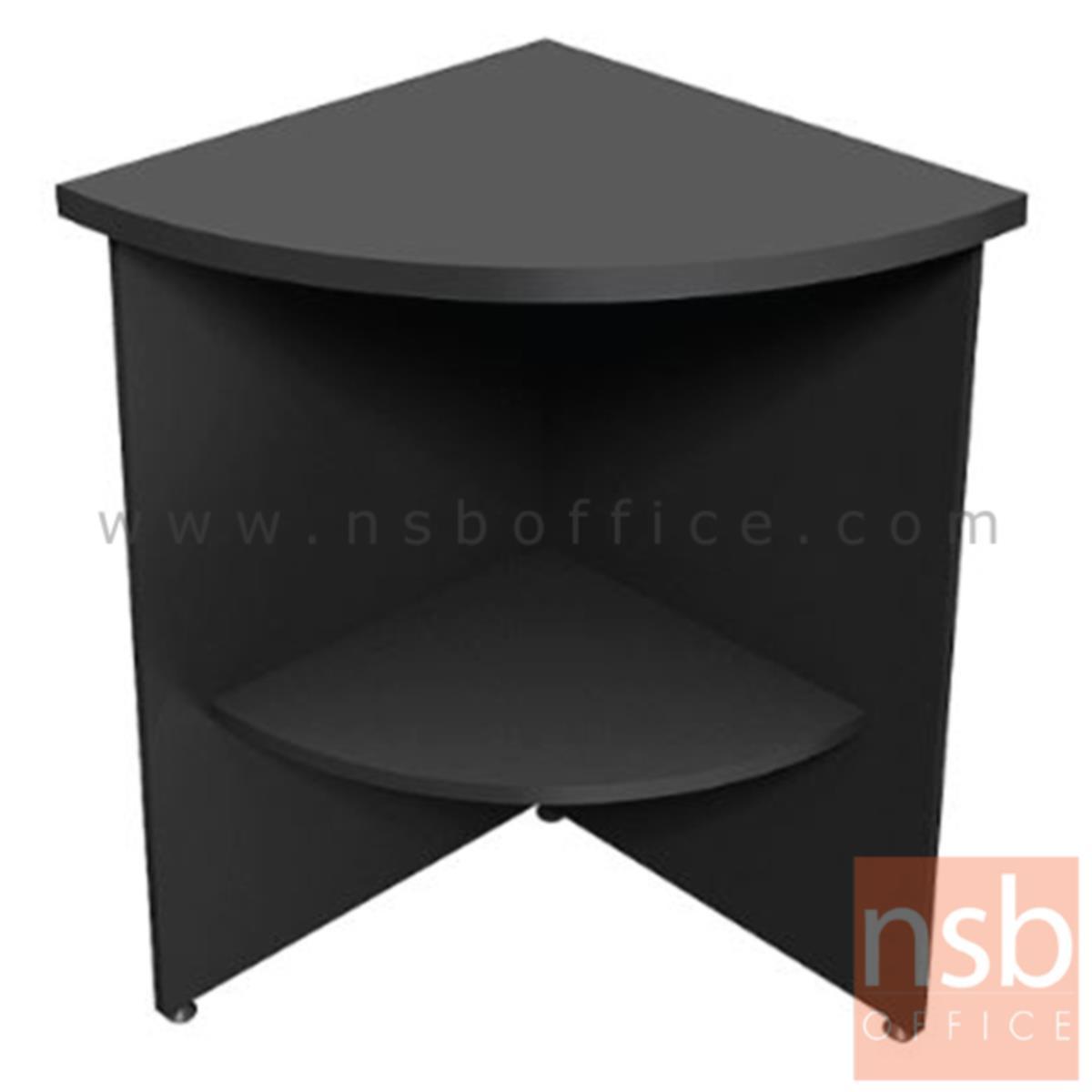 A26A015:โต๊ะเข้ามุม  รุ่น Bestluck (เบสต์ลักค์) ขนาด 60W*75H cm. เมลามีน