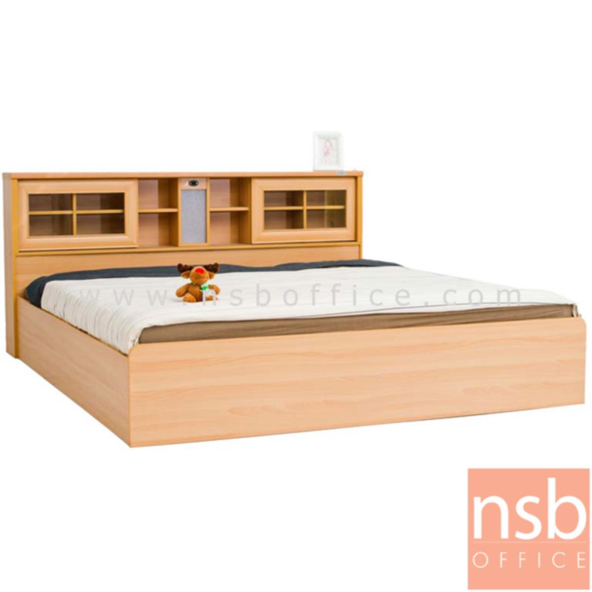 CL30477:เตียงนอนไม้ รุ่น NSB-SARIKA ขนาด 5ฟุต (มีสต๊อก 5 ชุด สีบีช)