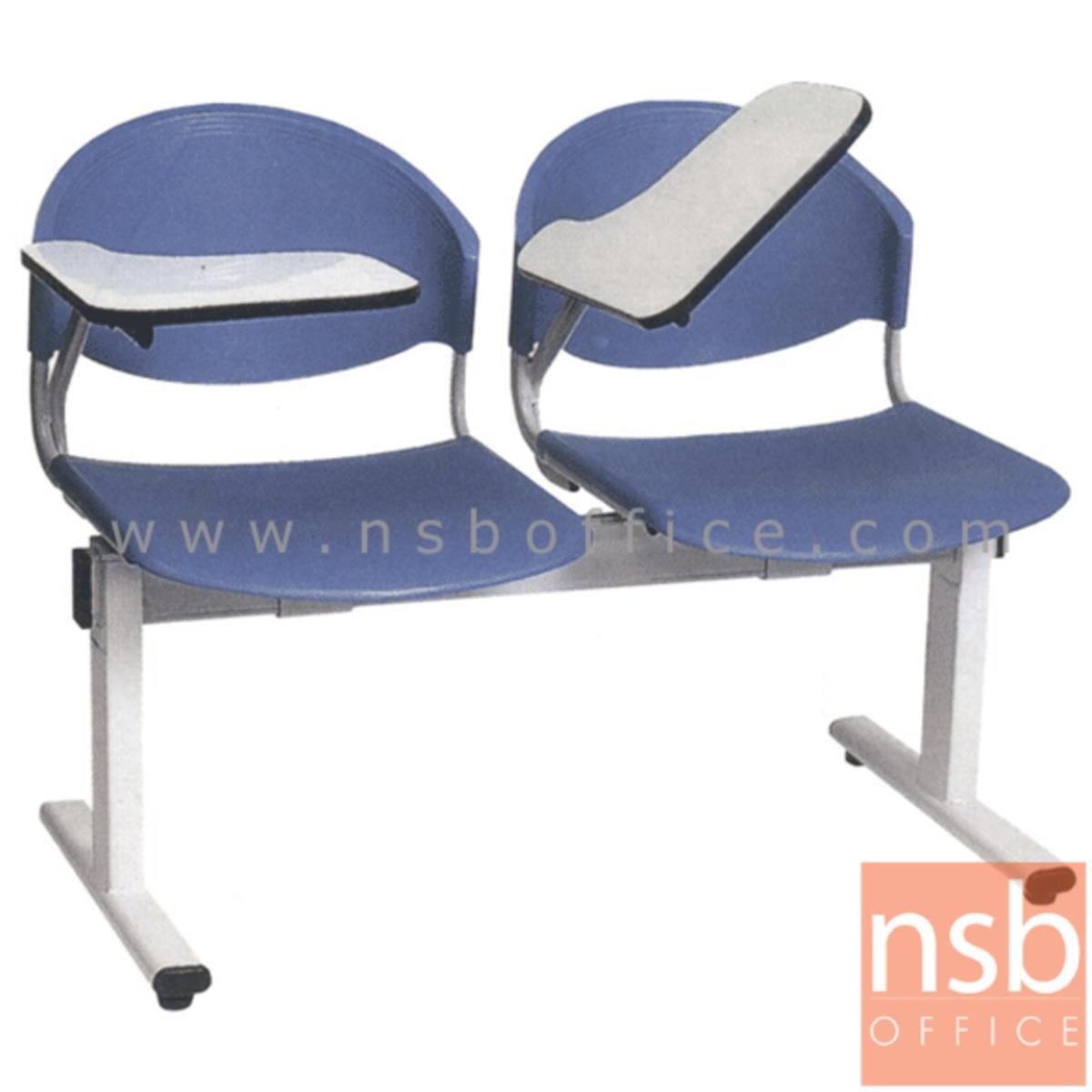 เก้าอี้เลคเชอร์เฟรมโพลี่ รุ่น D900NC 2 ,3 และ 4 ที่นั่ง ขาเหล็กเหลี่ยม