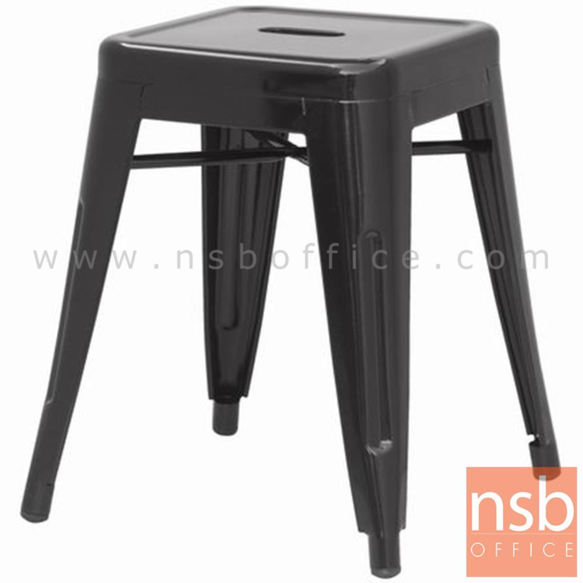 B29A096:เก้าอี้สตูลโมเดิร์น รุ่น Isengard (ไอเซนการ์ด) ขนาด 30W cm. โครงเหล็ก สีดำ