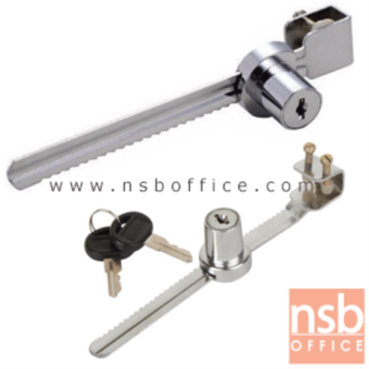 G06A028:กุญแจล็อคฟันเลื่อย สำหรับล็อคตู้กระจกโชว์สินค้า