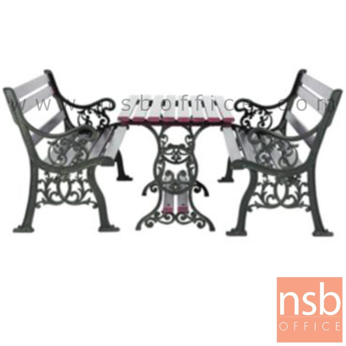 G08A043:ชุดโต๊ะสนาม พร้อมเก้าอี้ กทม. BKK-COT31 (โต๊ะ 1 + เก้าอี้ 2)