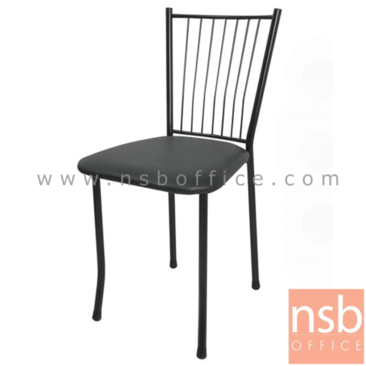 B20A049:เก้าอี้อเนกประสงค์เหล็ก รุ่น SOFIA-BB  ขาเหล็กพ่นดำ