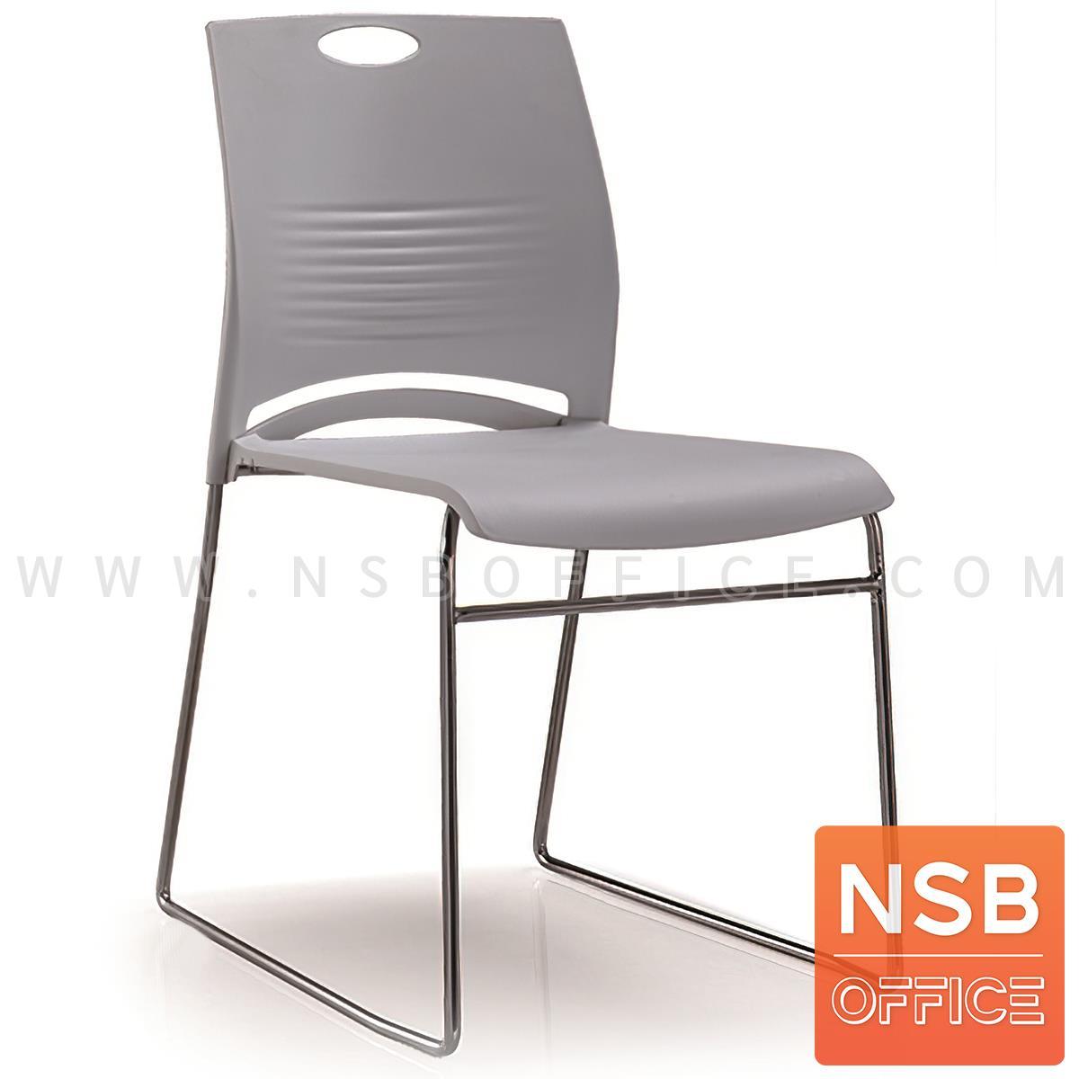 B05A175:เก้าอี้อเนกประสงค์เฟรมโพลี่ รุ่น Brick (บริค) โครงขาเหล็ก