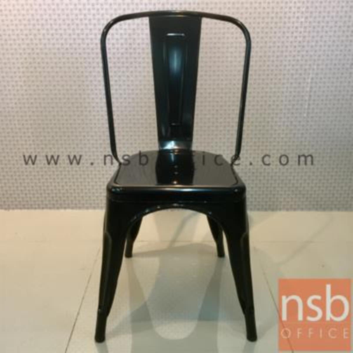 เก้าอี้โมเดิร์นเหล็ก รุ่น Belegost (เบเลกอสต์)  สีดำ