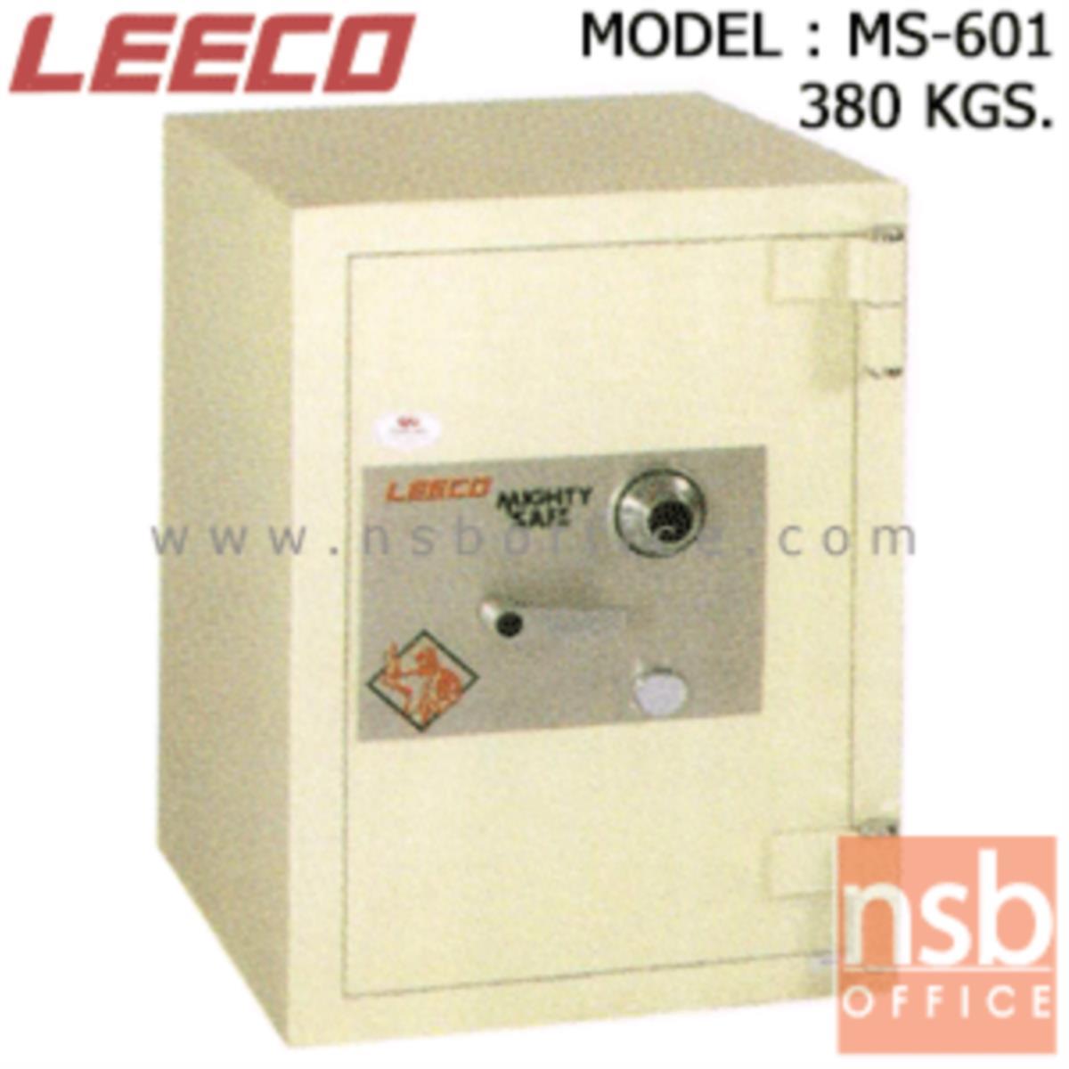 F02A018:ตู้เซฟนิรภัย 380 กก. ลีโก้ รุ่น LEECO-MS-601 มี 1 กุญแจ 1 รหัส (เปลี่ยนรหัสไม่ได้)