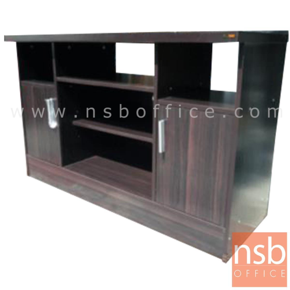 C08A015:ตู้วางทีวีไม้  รุ่น NSB-8015  ขนาด 120W*76H cm.