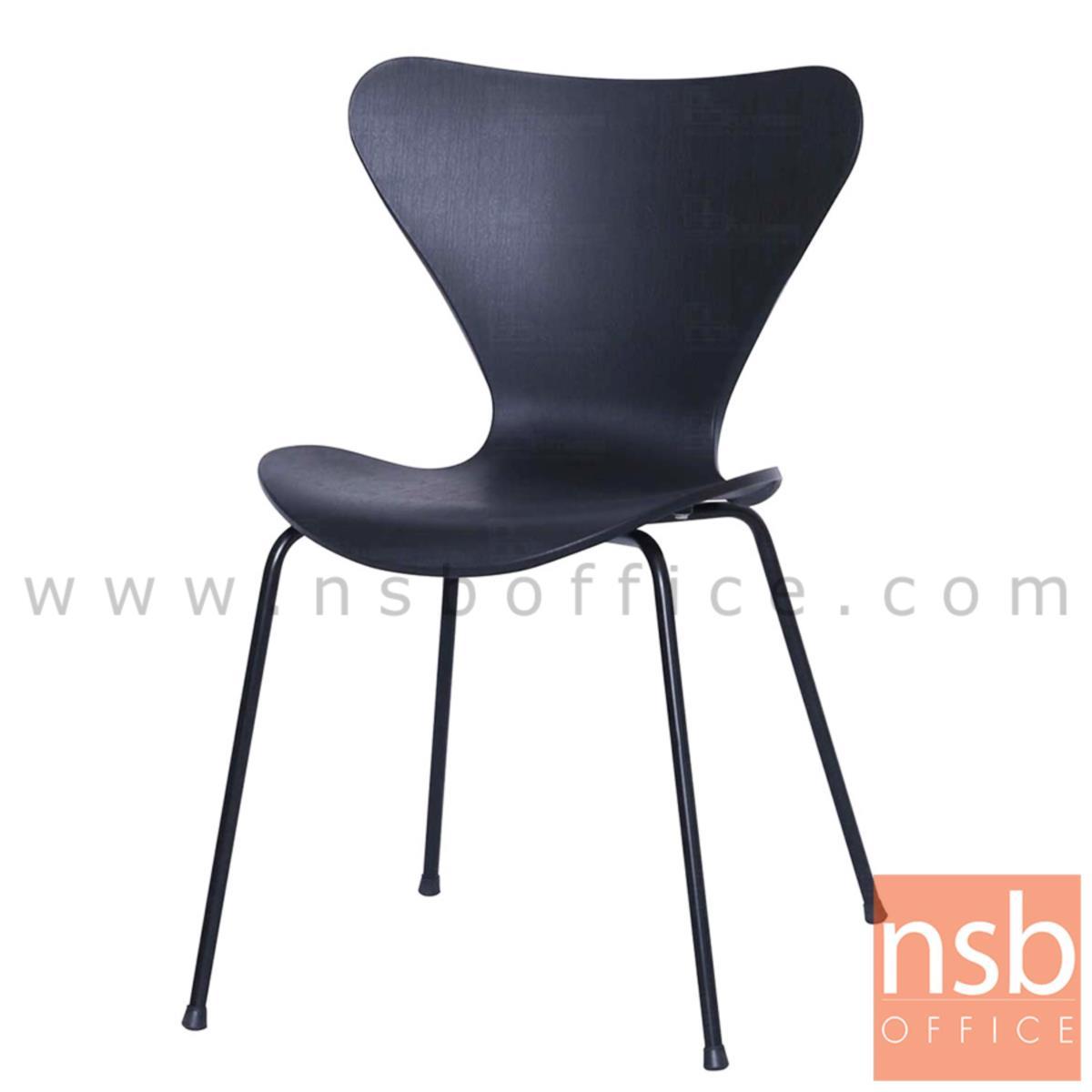 B20A110:เก้าอี้โมเดิร์นเฟรมโพลี่ รุ่น Ghana (กาน่า)  โครงขาเหล็ก