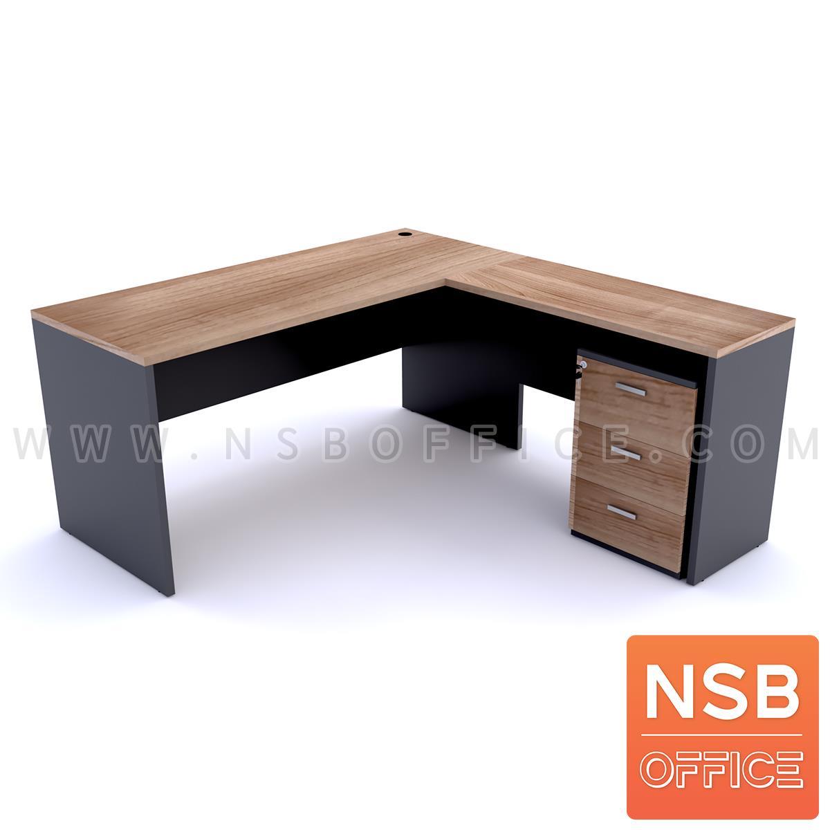 โต๊ะทำงานตัวแอล รุ่น Orianna (โอเรียนน่า) ขนาด 150W*160W/180W*160/150W*175W/180W*175 cm.