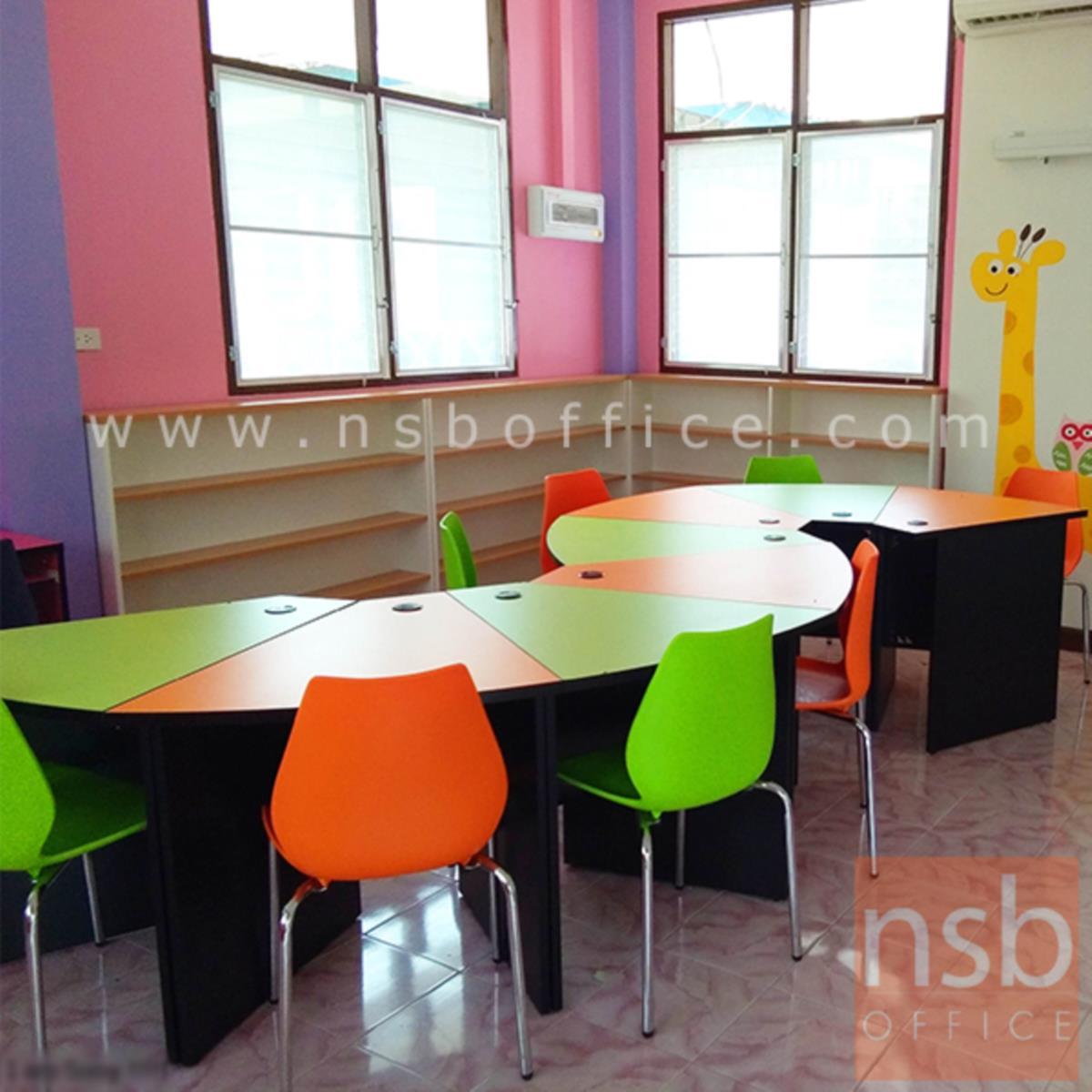 โต๊ะกิจกรรม  ขนาด 75W cm. เคลือบผิวเมลามีน (ราคาต่อ 1 ที่นั่ง)
