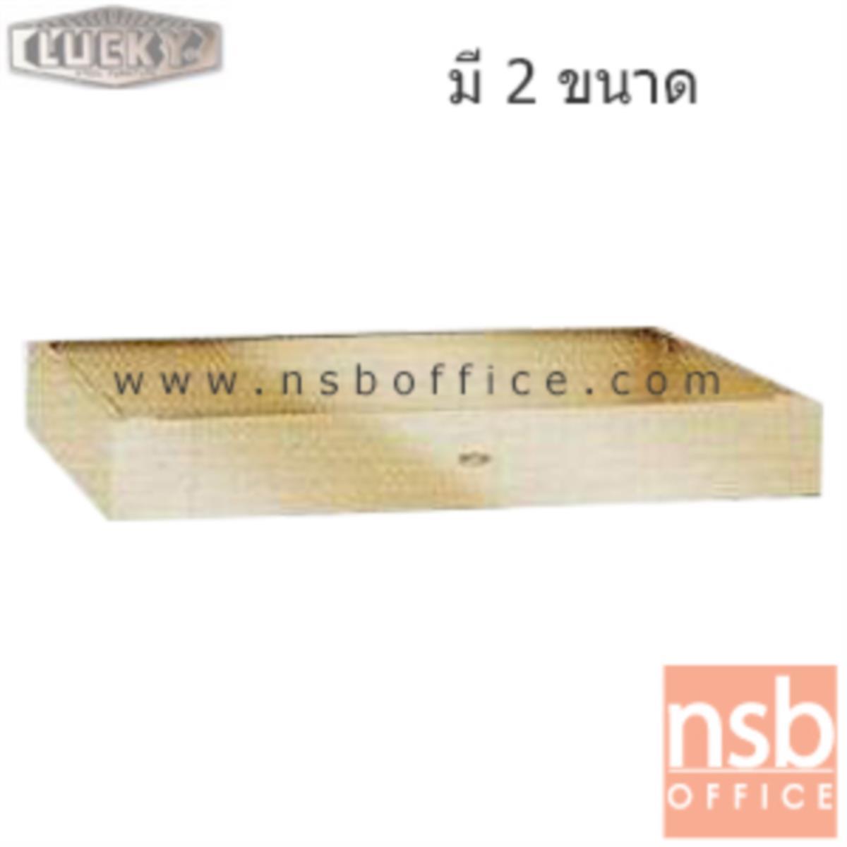 E16A008:ขาตู้เก็บแบบกันการเลื่อนของตู้ (ผลิต 2 ขนาด)