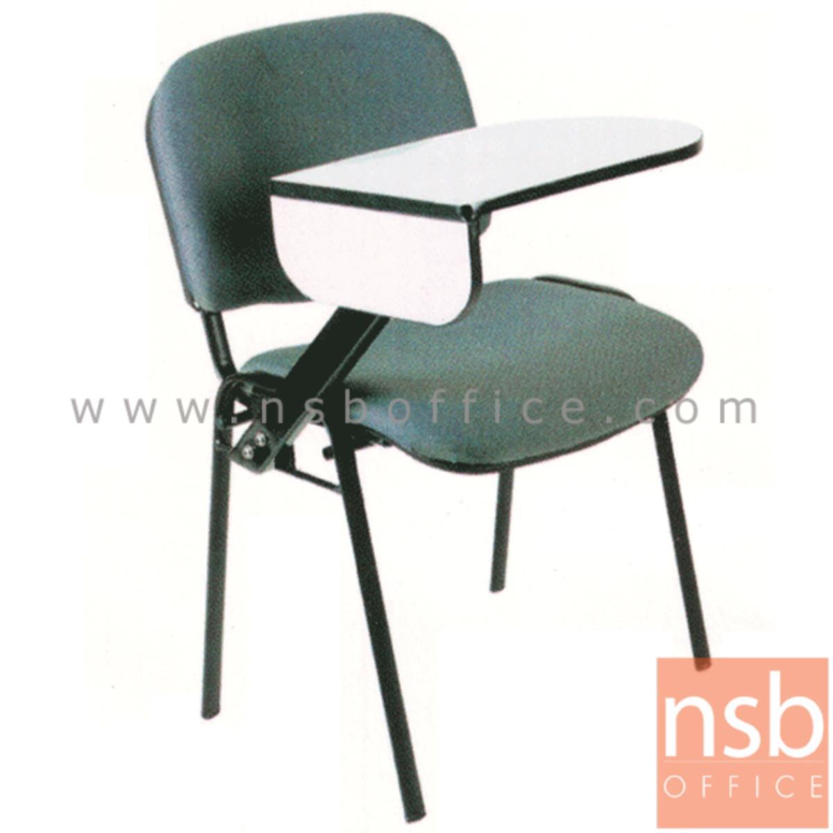 B07A041:เก้าอี้เลคเชอร์ รุ่น Denton (เดนตัน) ขาเหล็กพ่นดำ