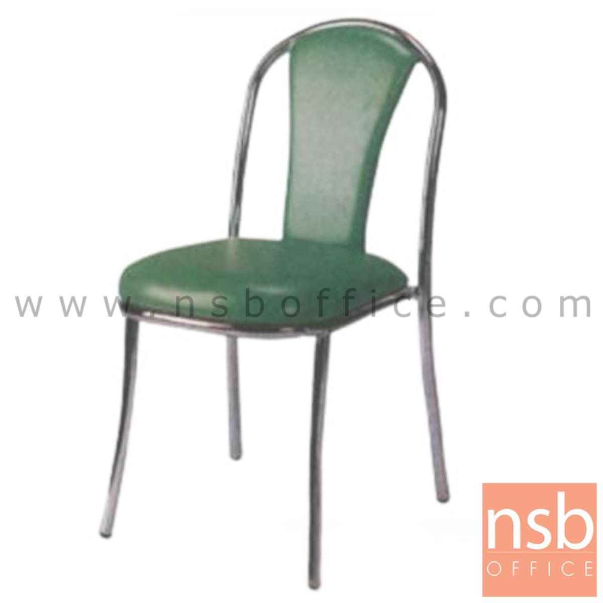 B05A076:เก้าอี้อเนกประสงค์ รุ่น KSS-83  ขาเหล็กชุบโครเมี่ยม